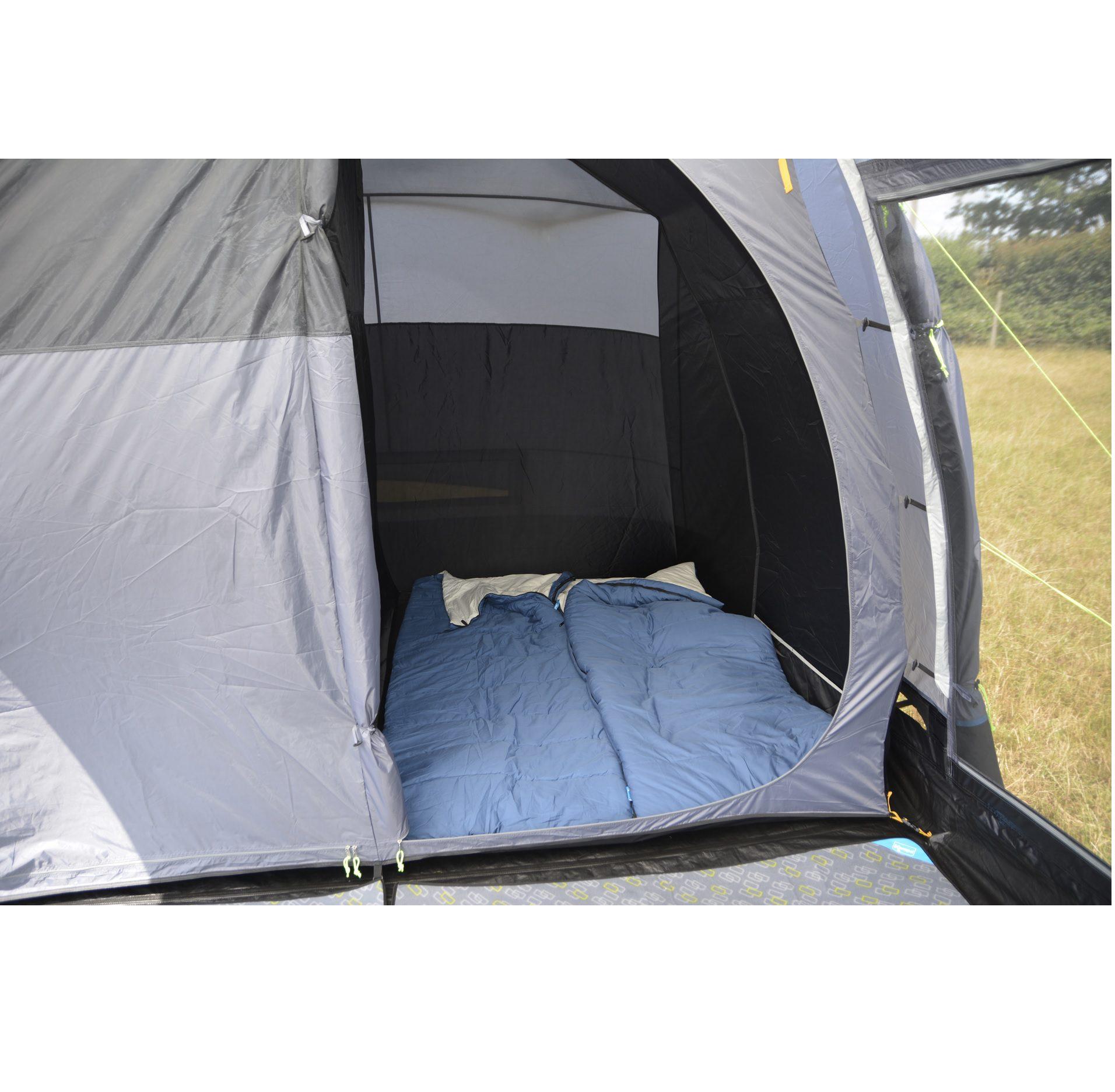Kampa Texel 4 tent bedroom