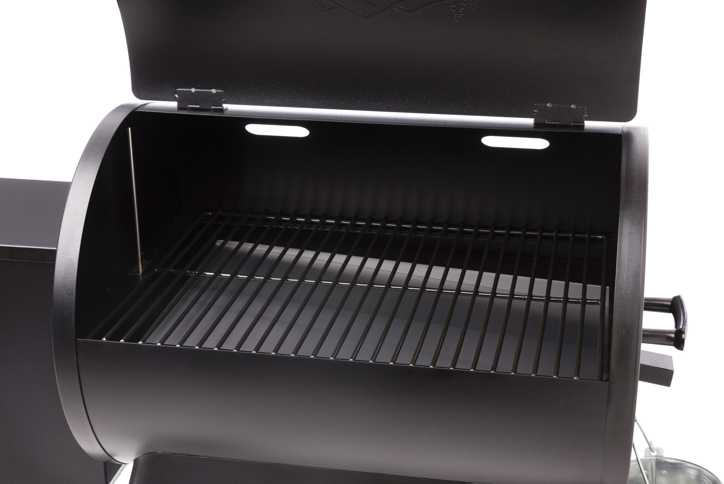 Bf Grills Bronson 20 Lid Open Traeger