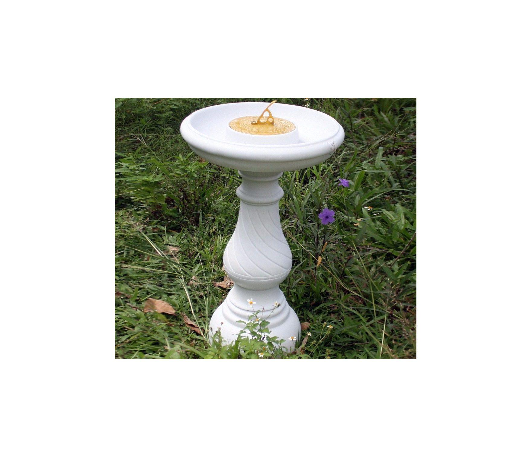 Swirl White Sundial 0124E83Db3166Fd9A380681754F9F998 Original