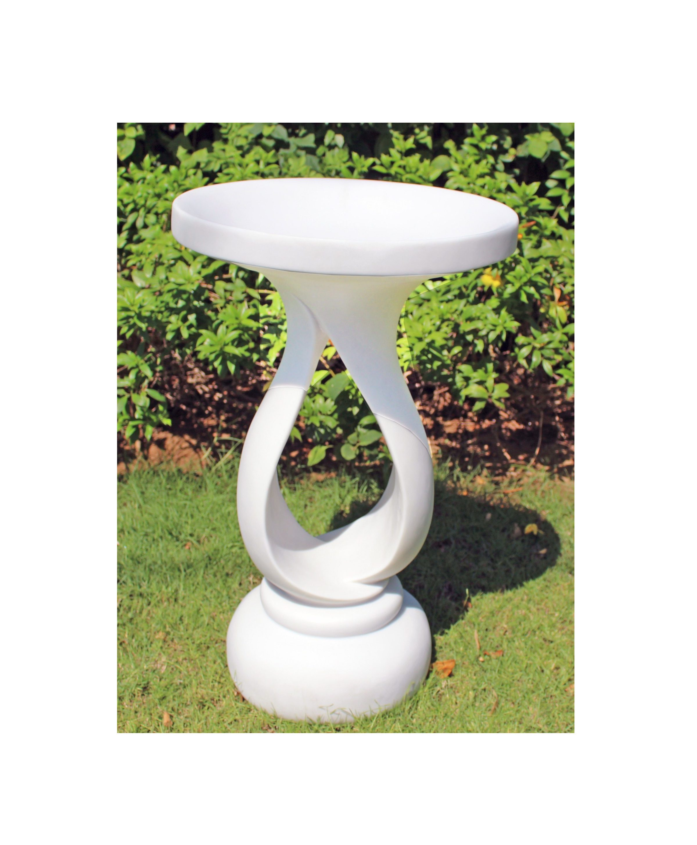 Enigma Contemporary Bird Bath