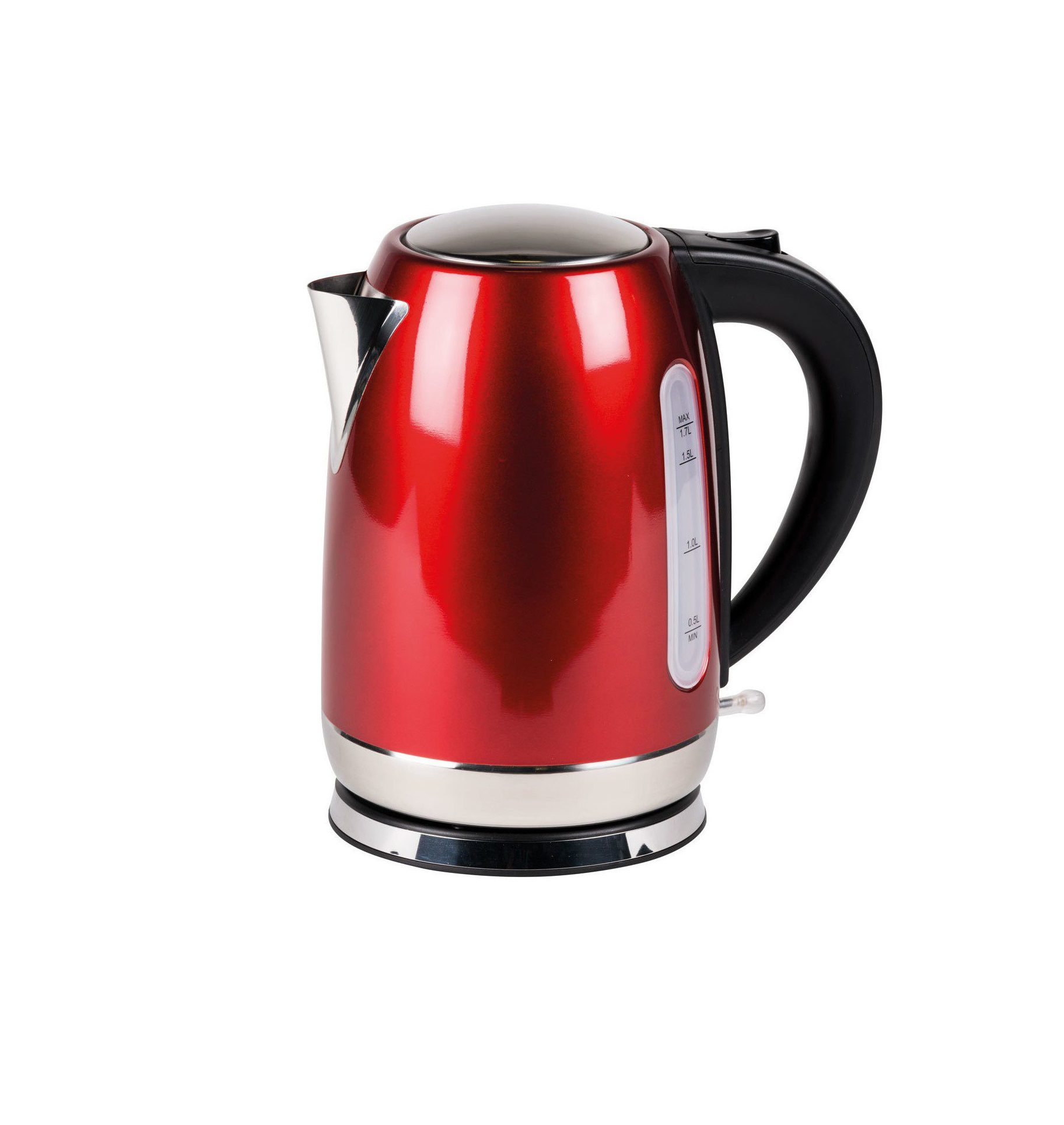 Kampa Storm Stainless Steel Kettle Red