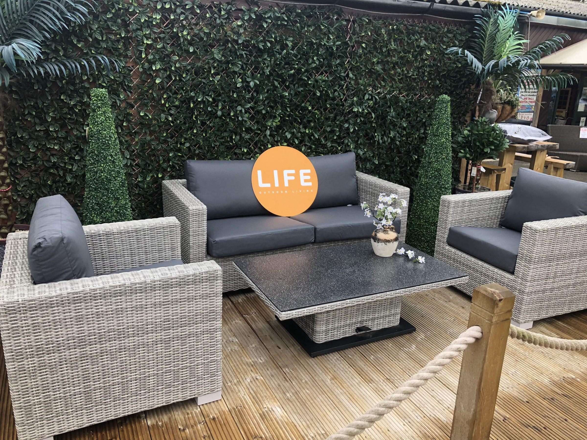Life Outdoor Living Aya Lounger Set 3 Copy