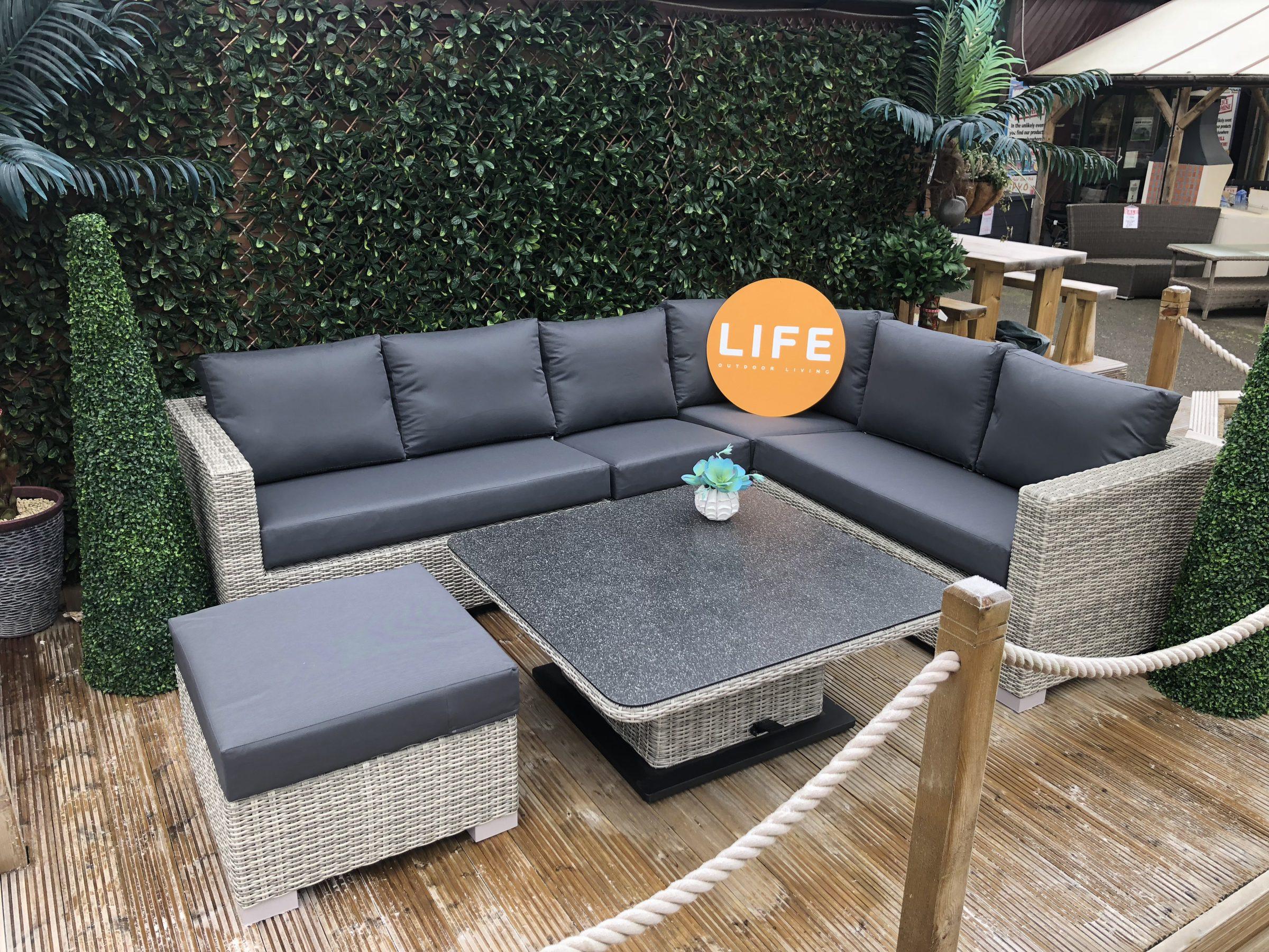 Life Outdoor Living Aya Square Lounge Corner Set Copy
