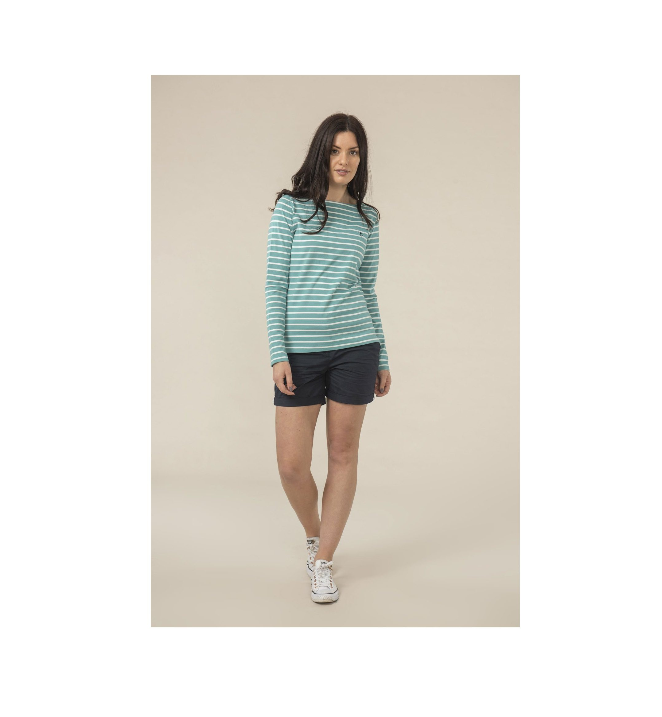Causeay Top Blue Striped 1