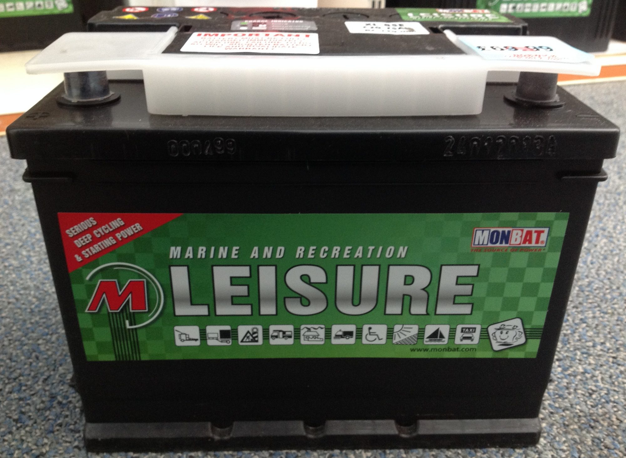 Monbat XL 85E Leisure Battery