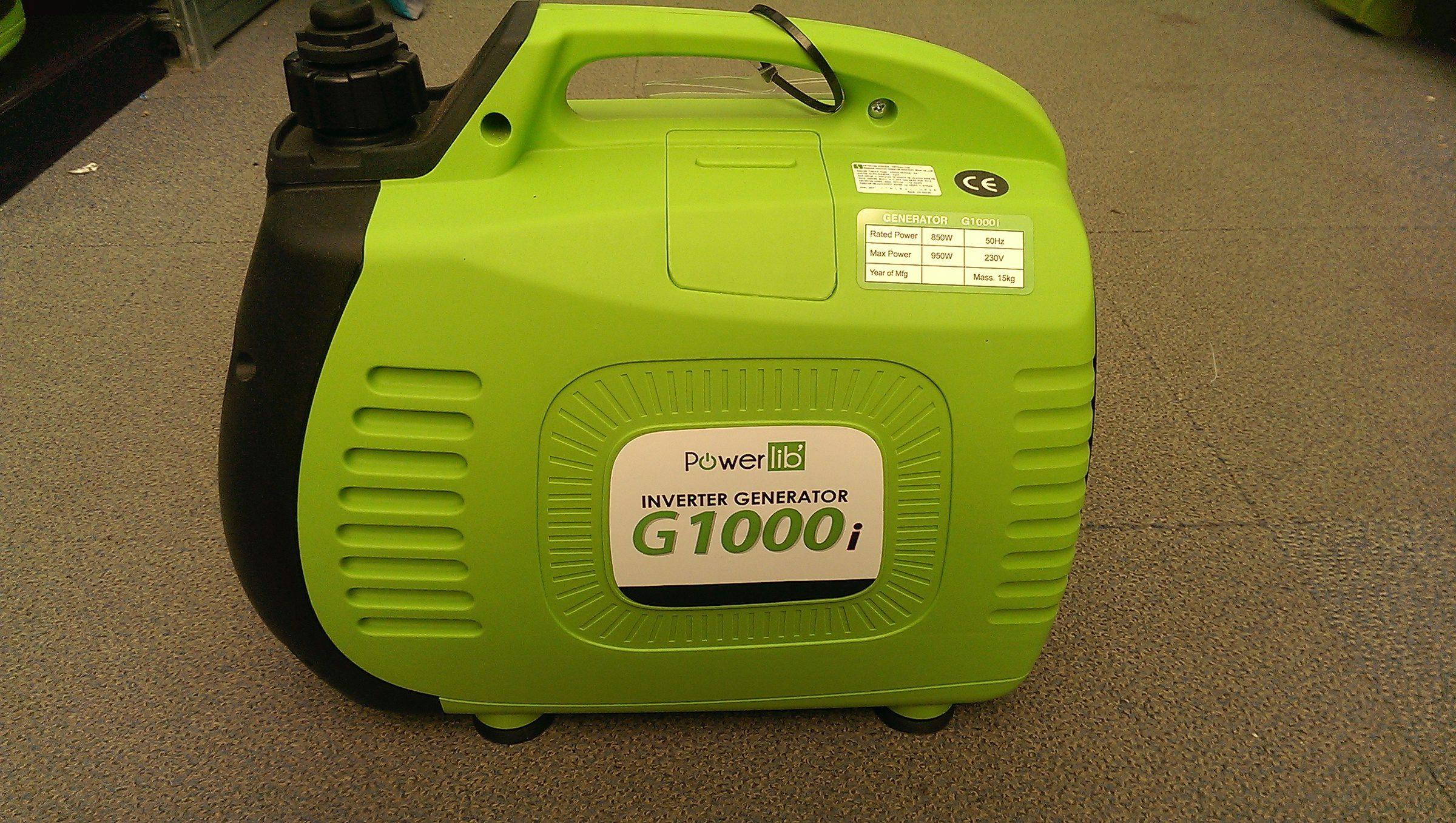 PowerLib Bayasun G1000i Portable Generator