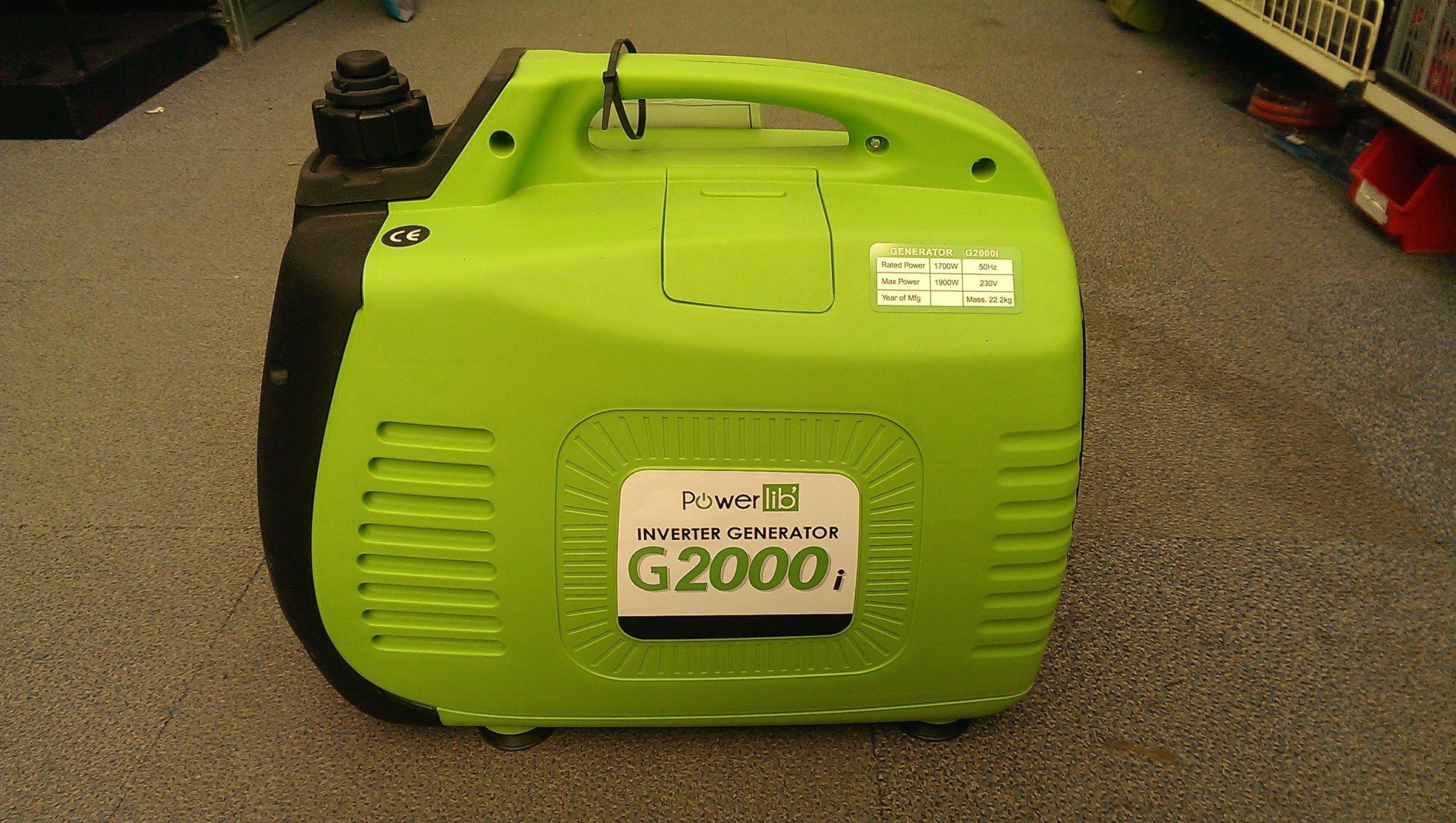 PowerLib Bayasun G2000i Portable Generator