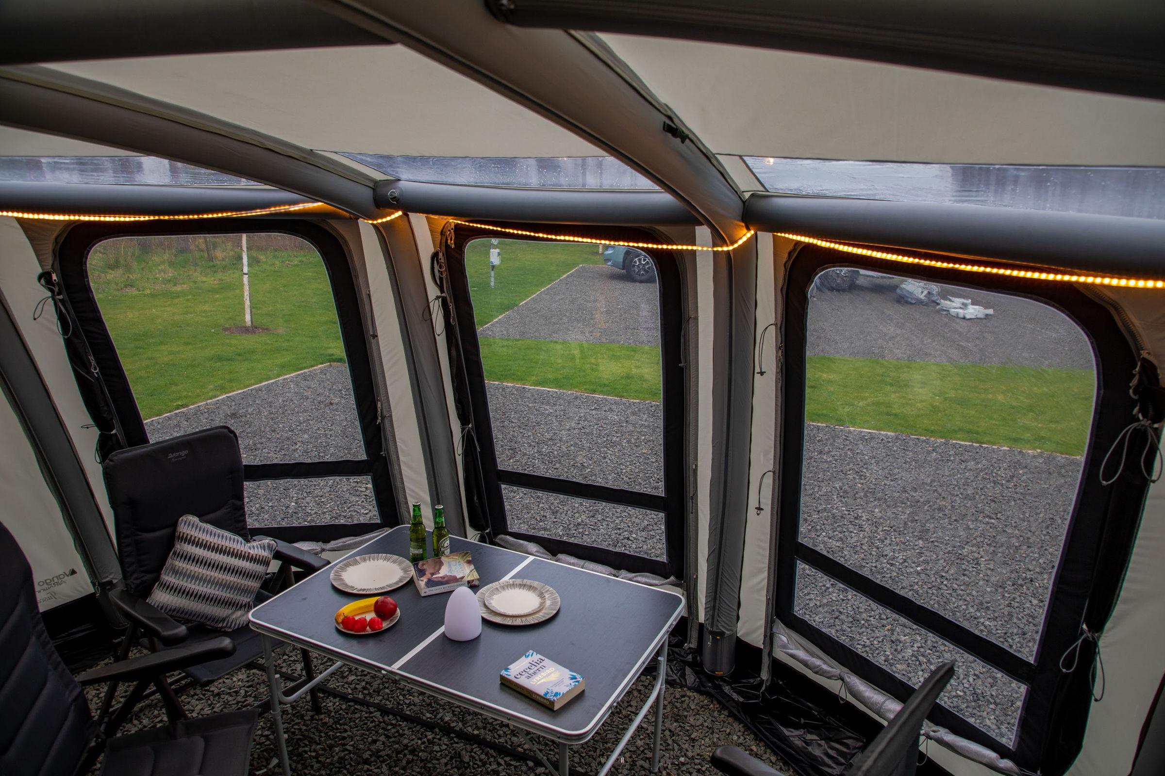 Vango Tuscany Airbeam Caravan Awning 8