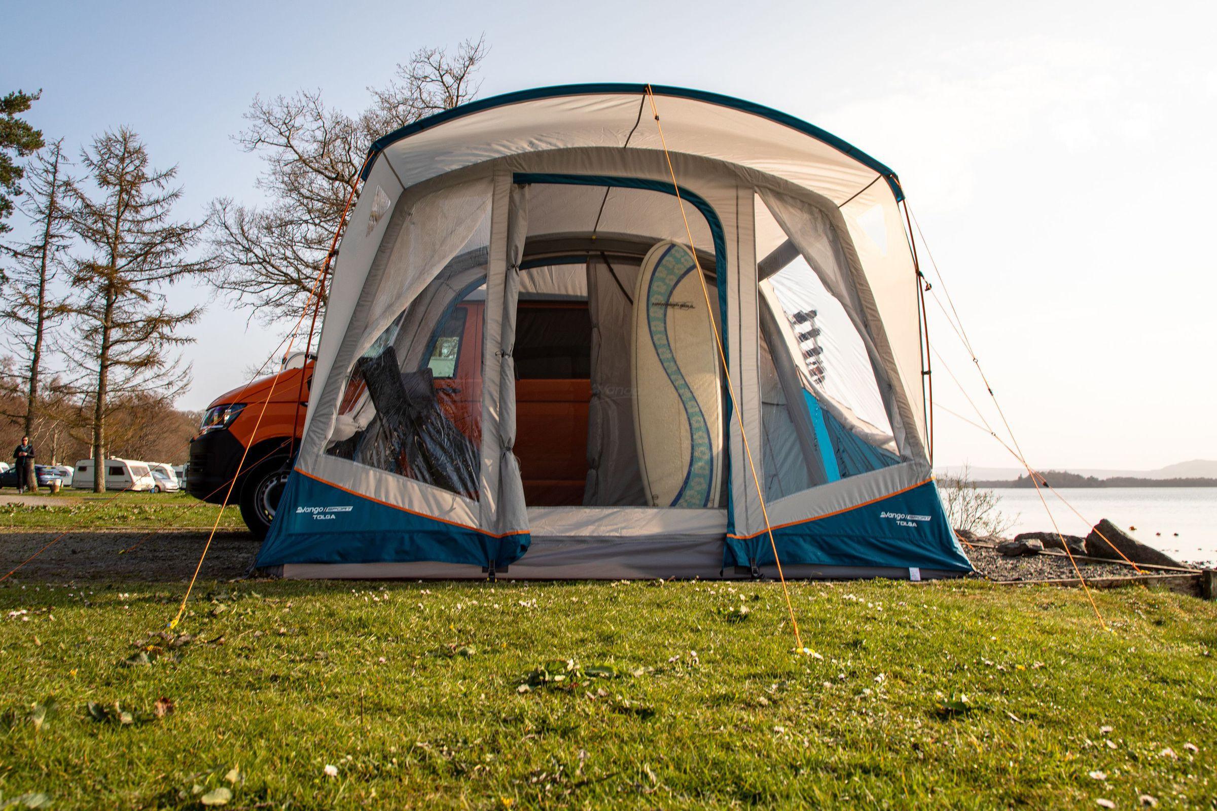 Vango Tolga Vw Low Driveaway Awning Norwich Camping6