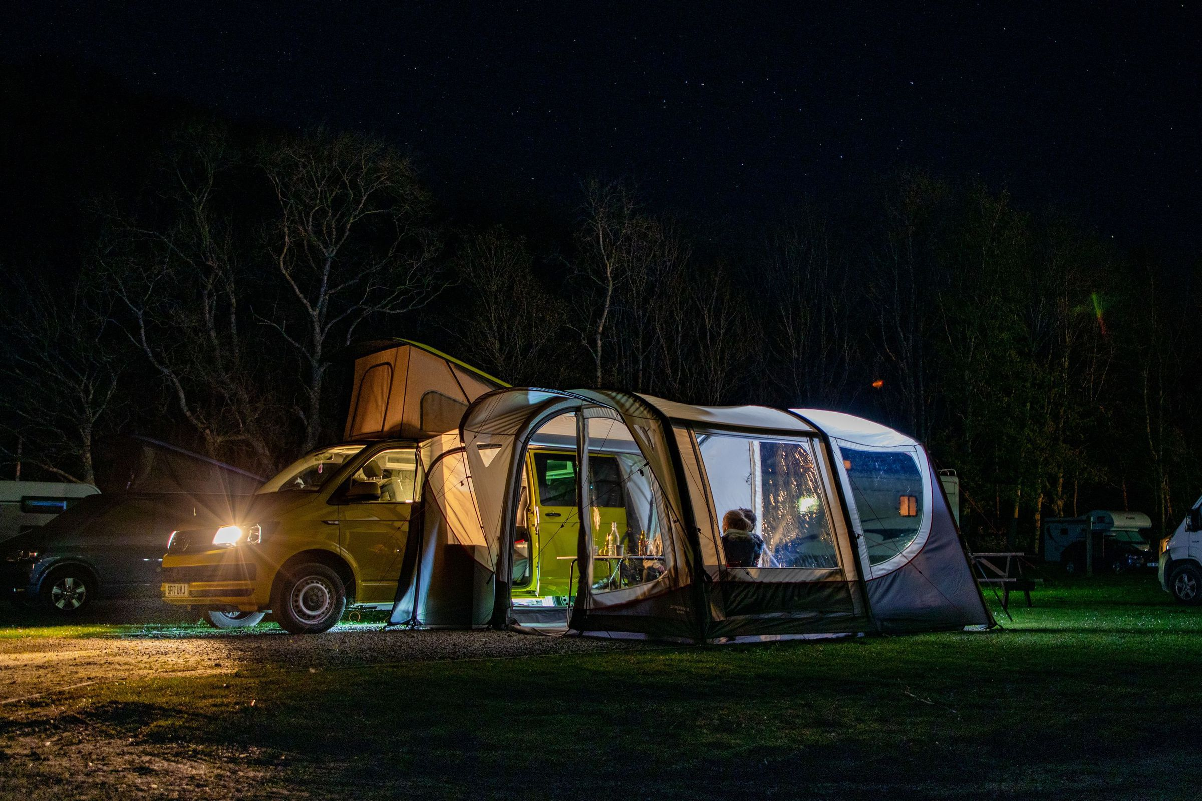 Vango Magra Vw Low Driveaway Awning Norwich Camping15