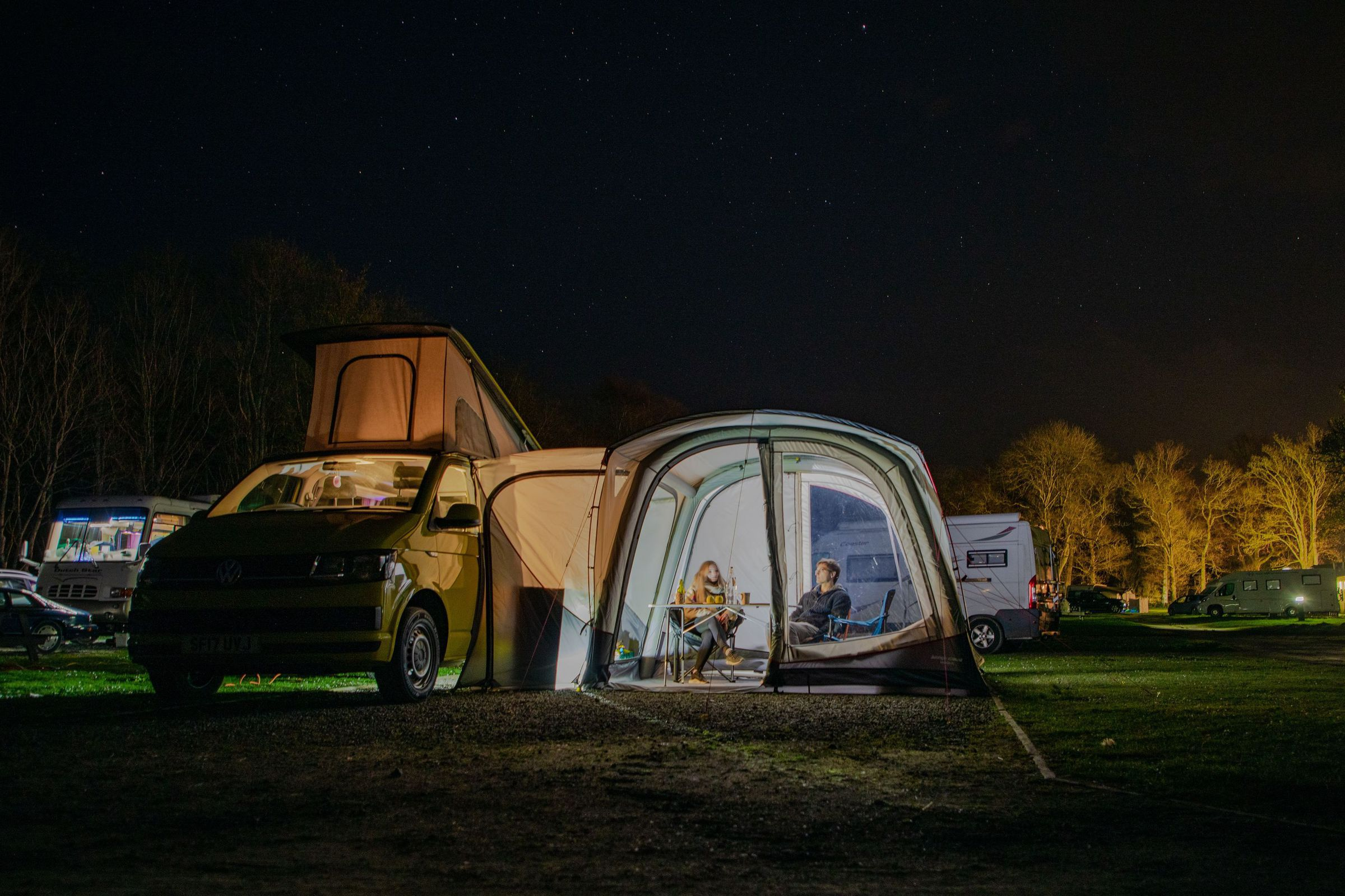 Vango Magra Vw Low Driveaway Awning Norwich Camping14