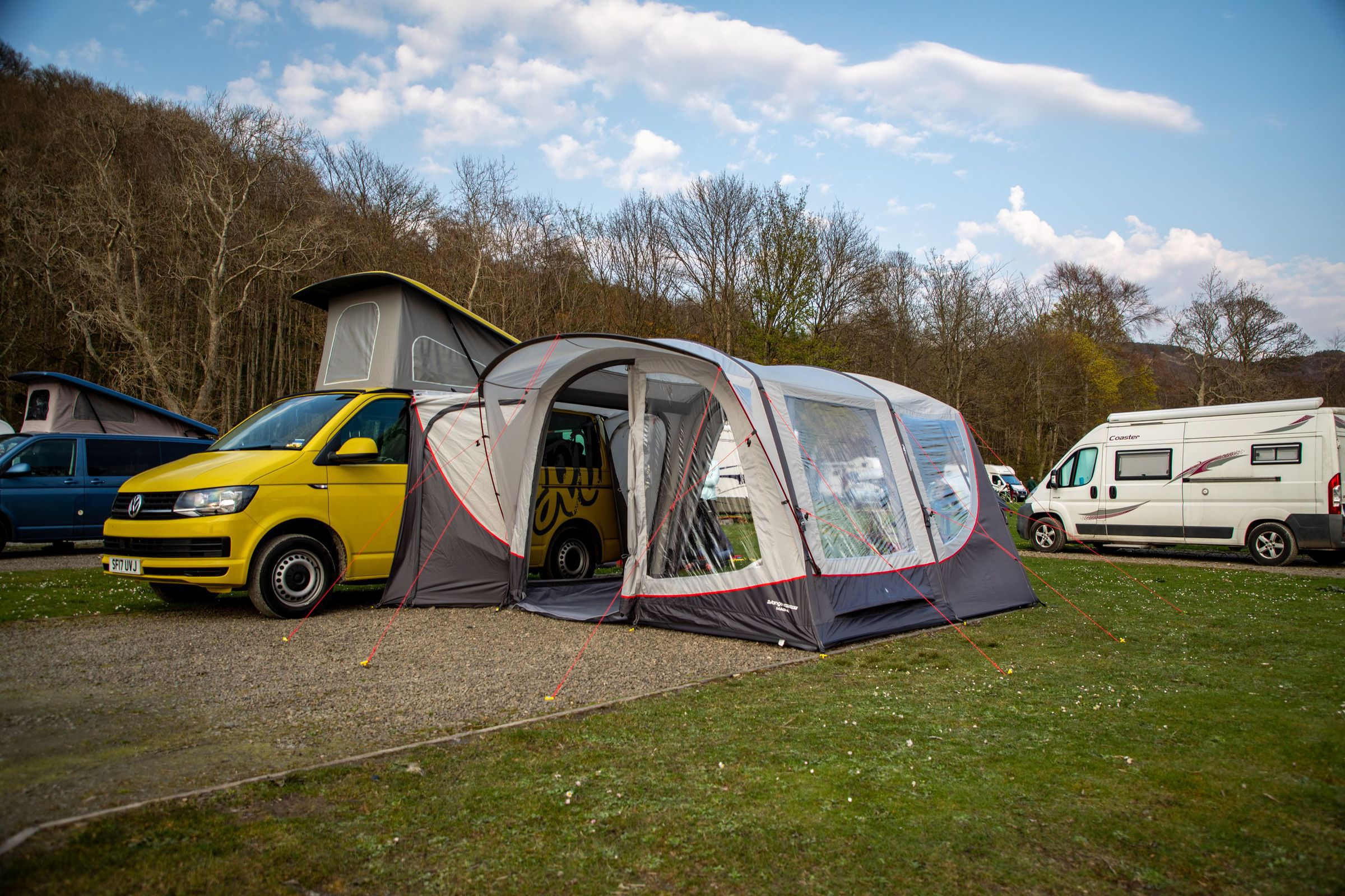 Vango Magra Vw Low Driveaway Awning Norwich Camping11