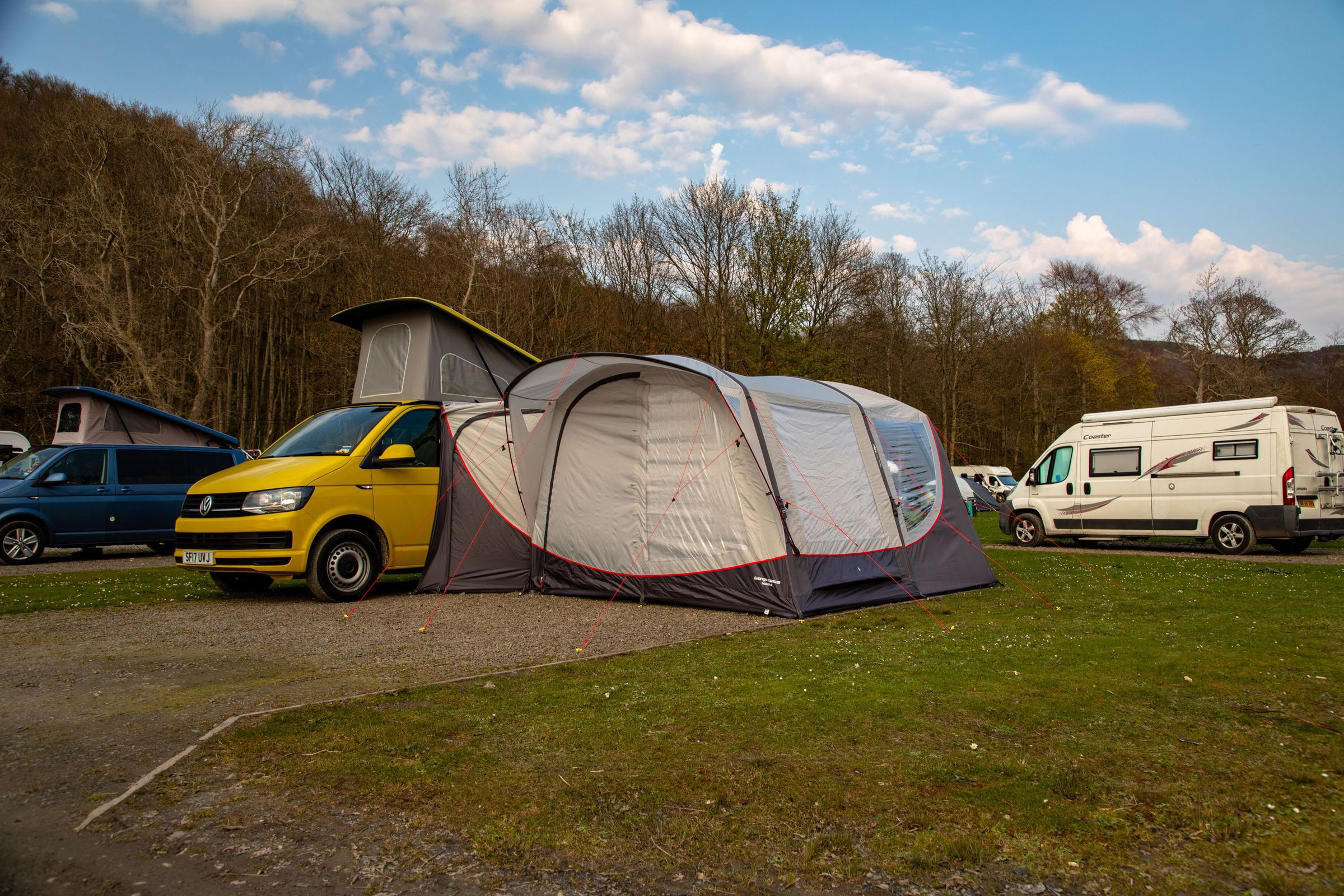 Vango Magra Vw Low Driveaway Awning Norwich Camping10