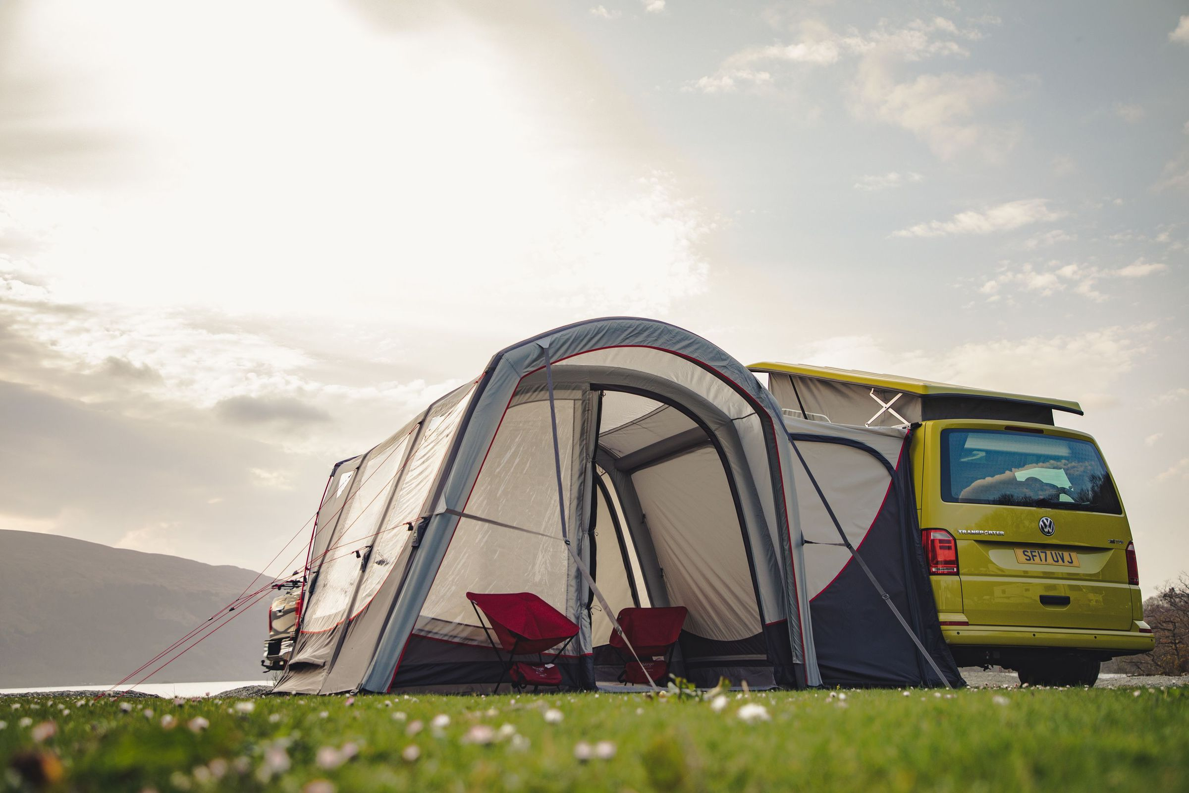 Vango Magra Vw Low Driveaway Awning Norwich Camping9