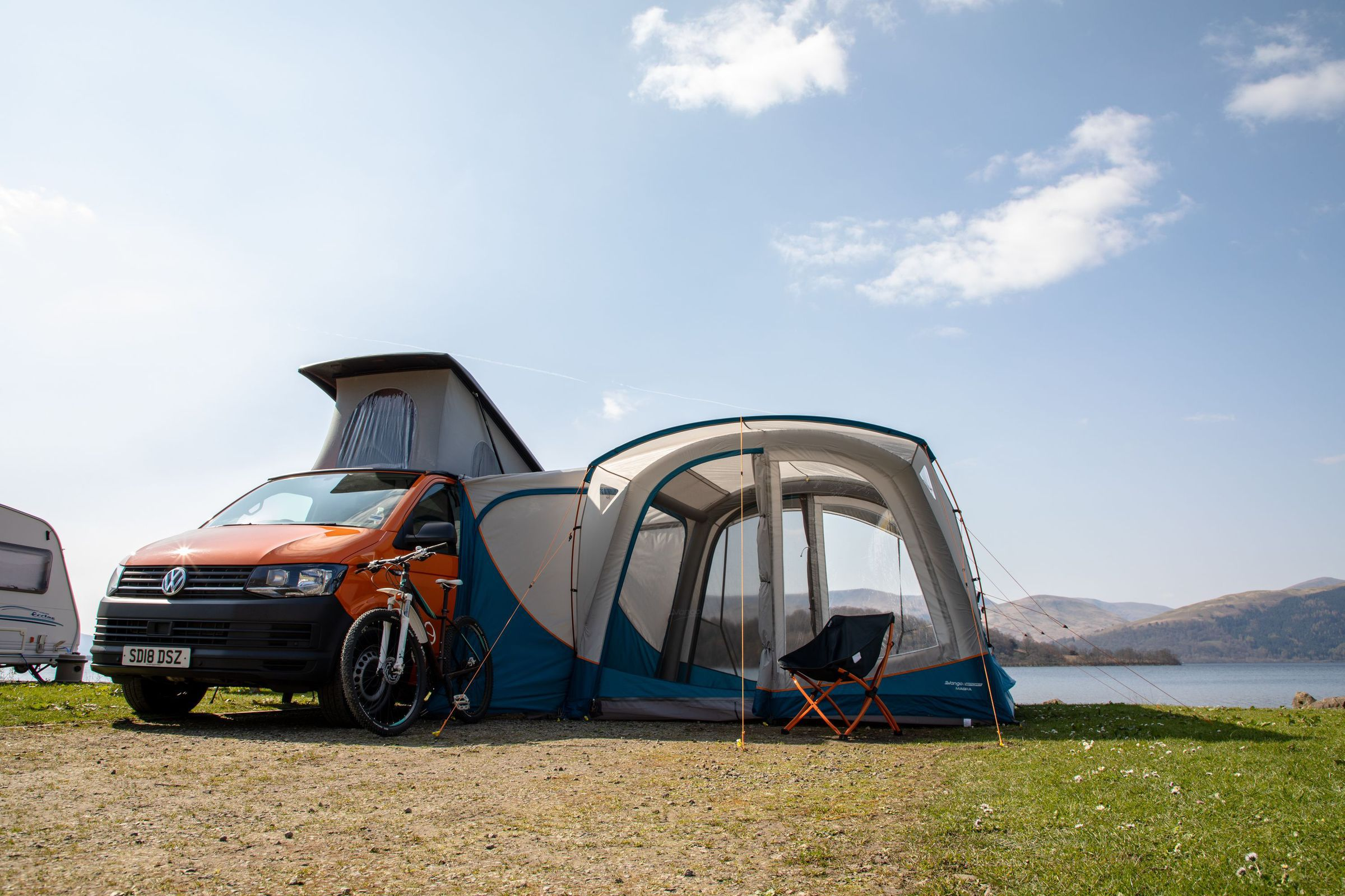 Vango Magra Vw Low Driveaway Awning Norwich Camping3