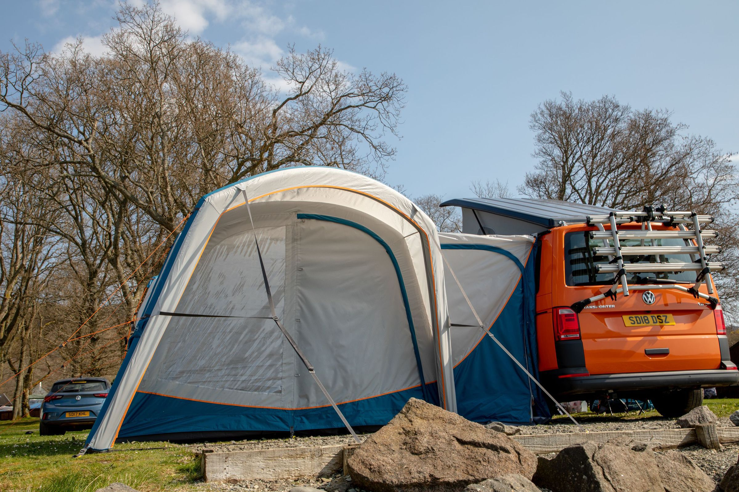 Vango Magra Vw Low Driveaway Awning Norwich Camping2