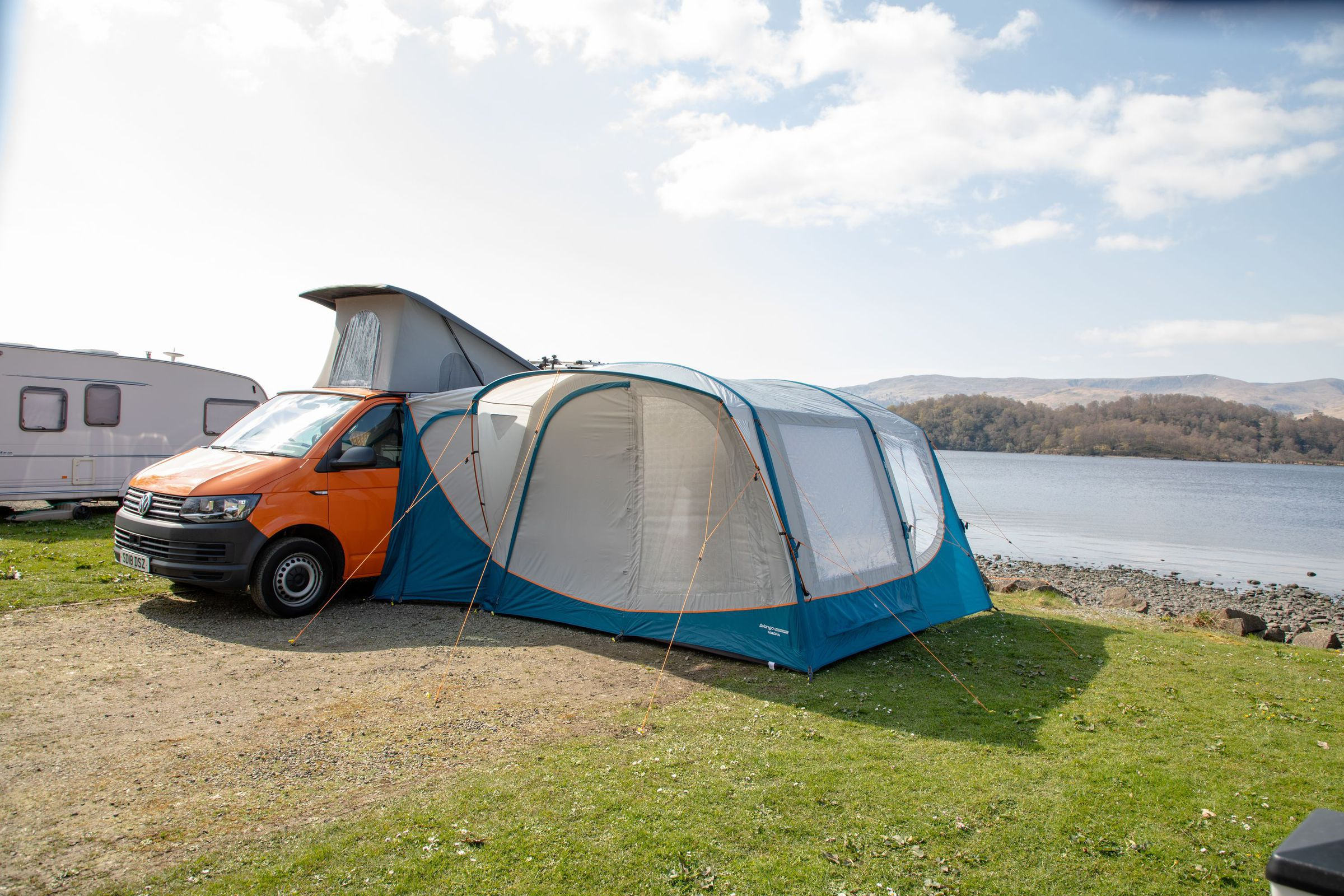 Vango Magra Vw Low Driveaway Awning Norwich Camping1
