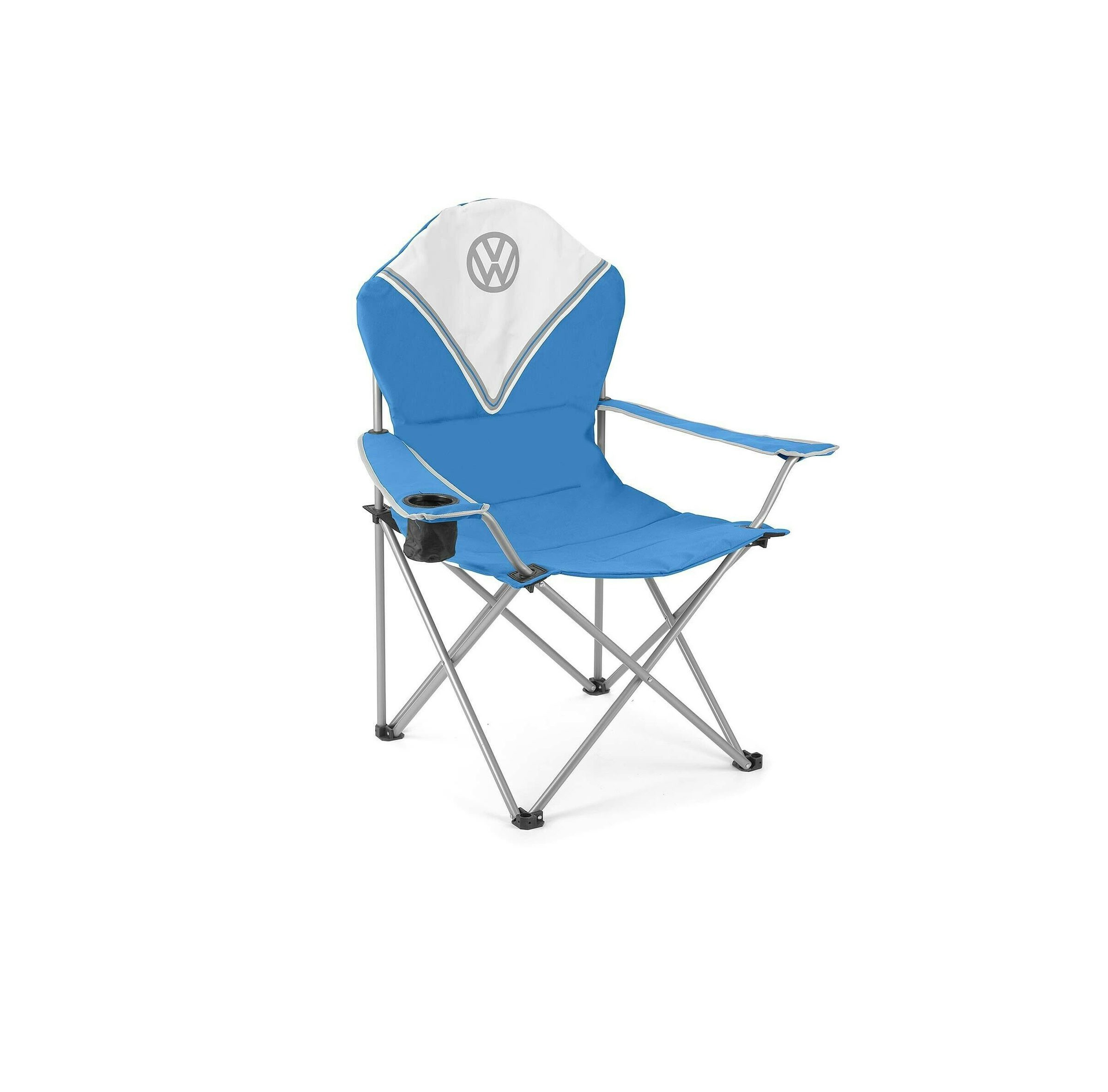 Vw Deluxe Padded Chair Blue