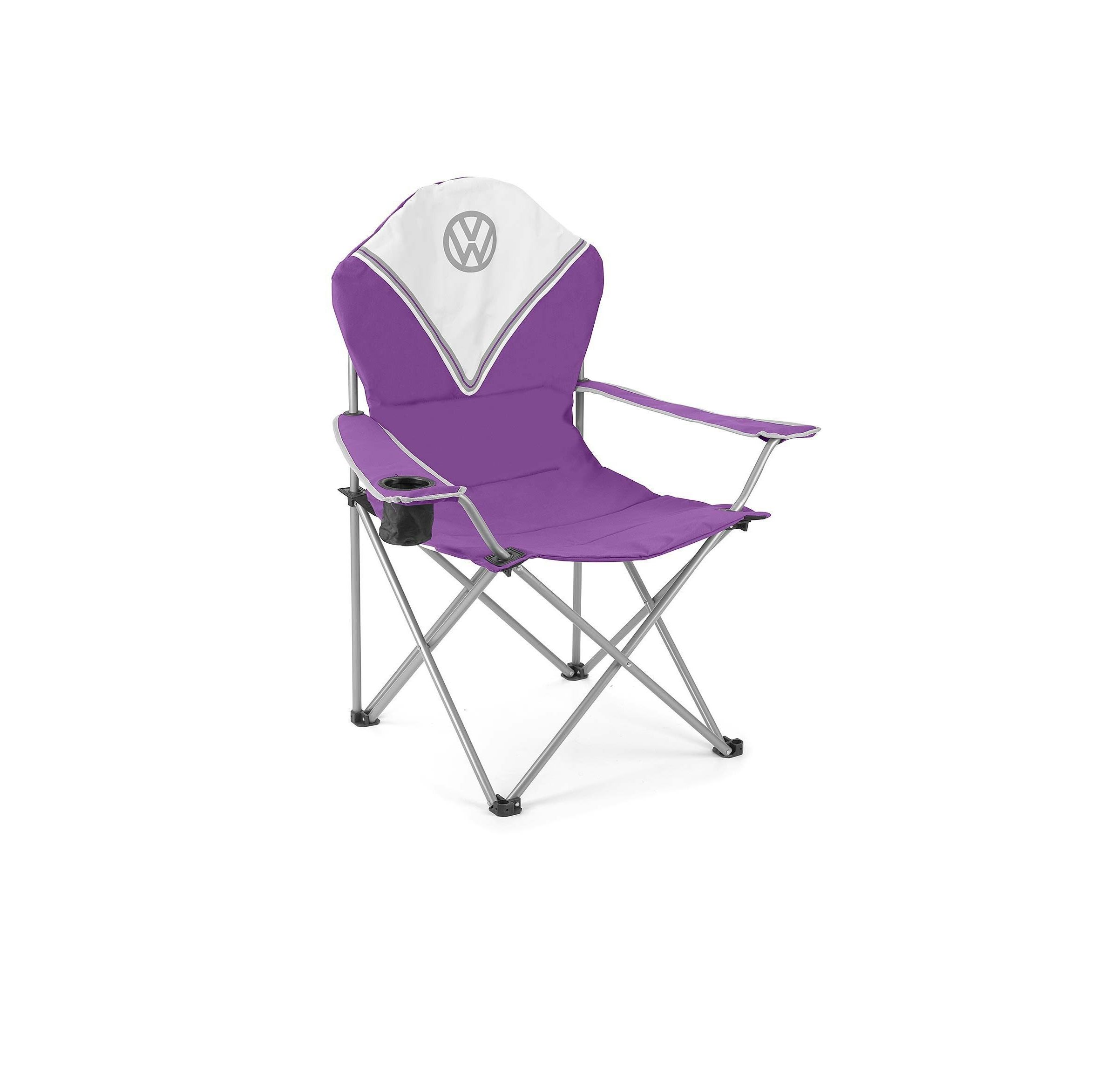 Vw Deluxe Padded Chair Purple