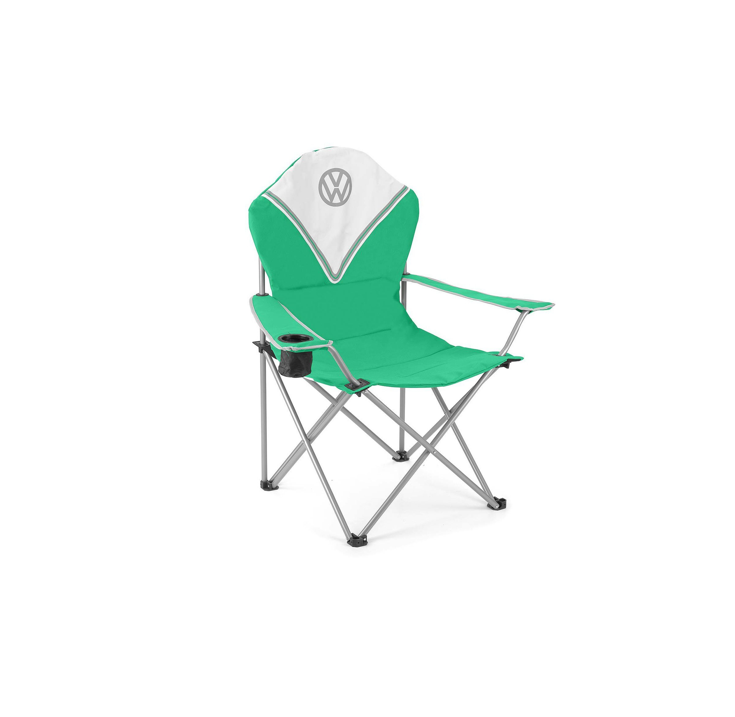 Vw Deluxe Padded Chair Green