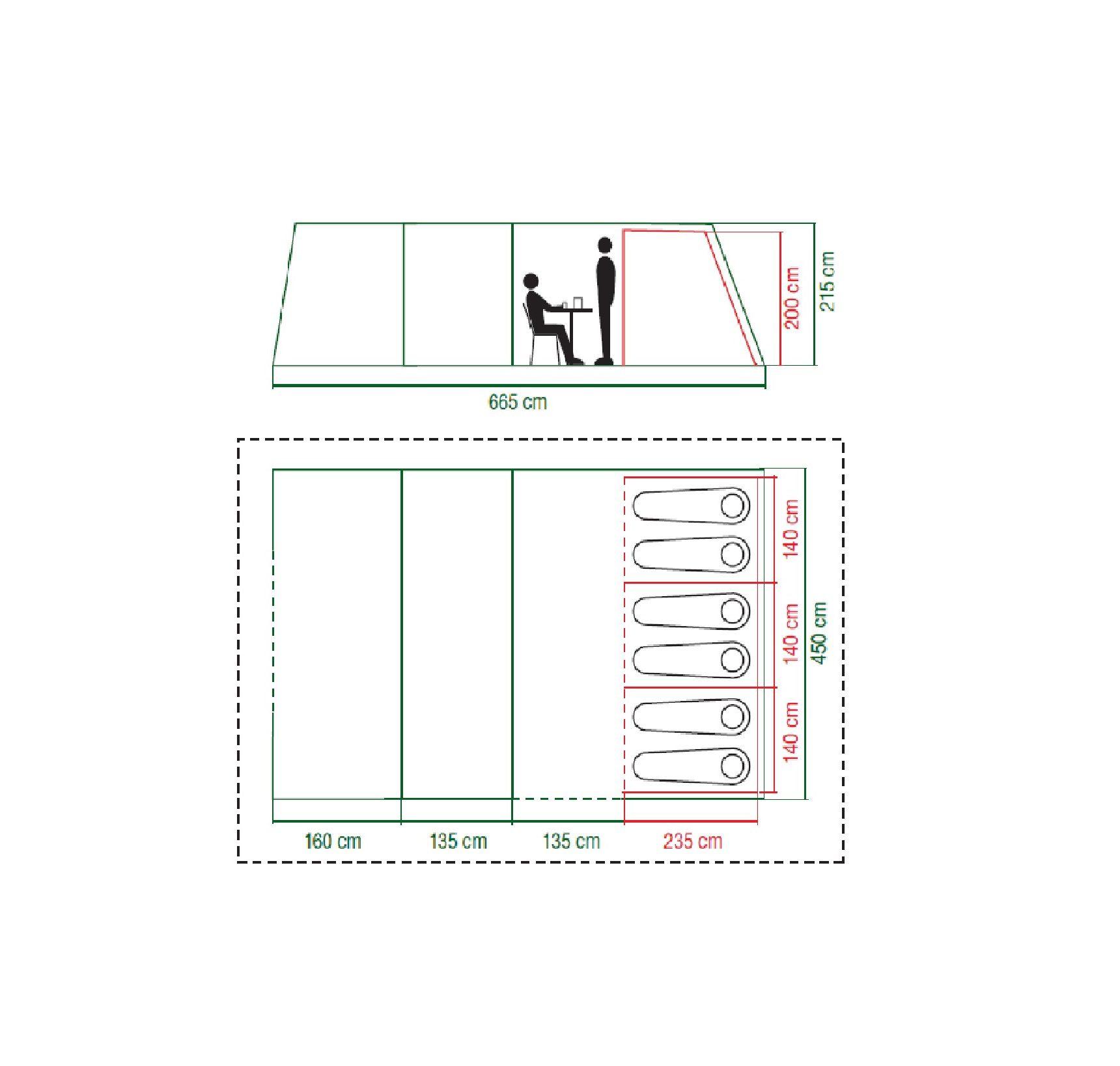 Weathermaster 6XL Floor Plan