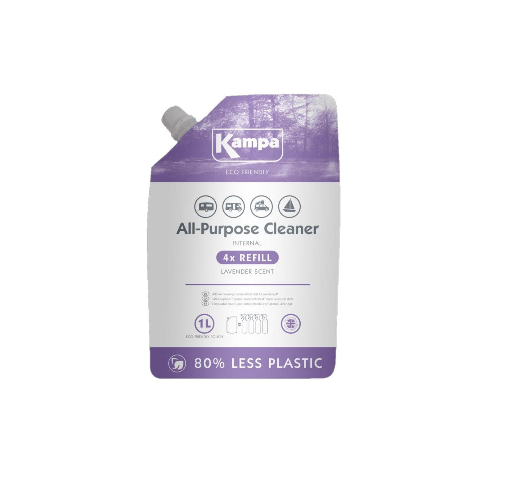 Kampa eco refill awning and tent cleaner