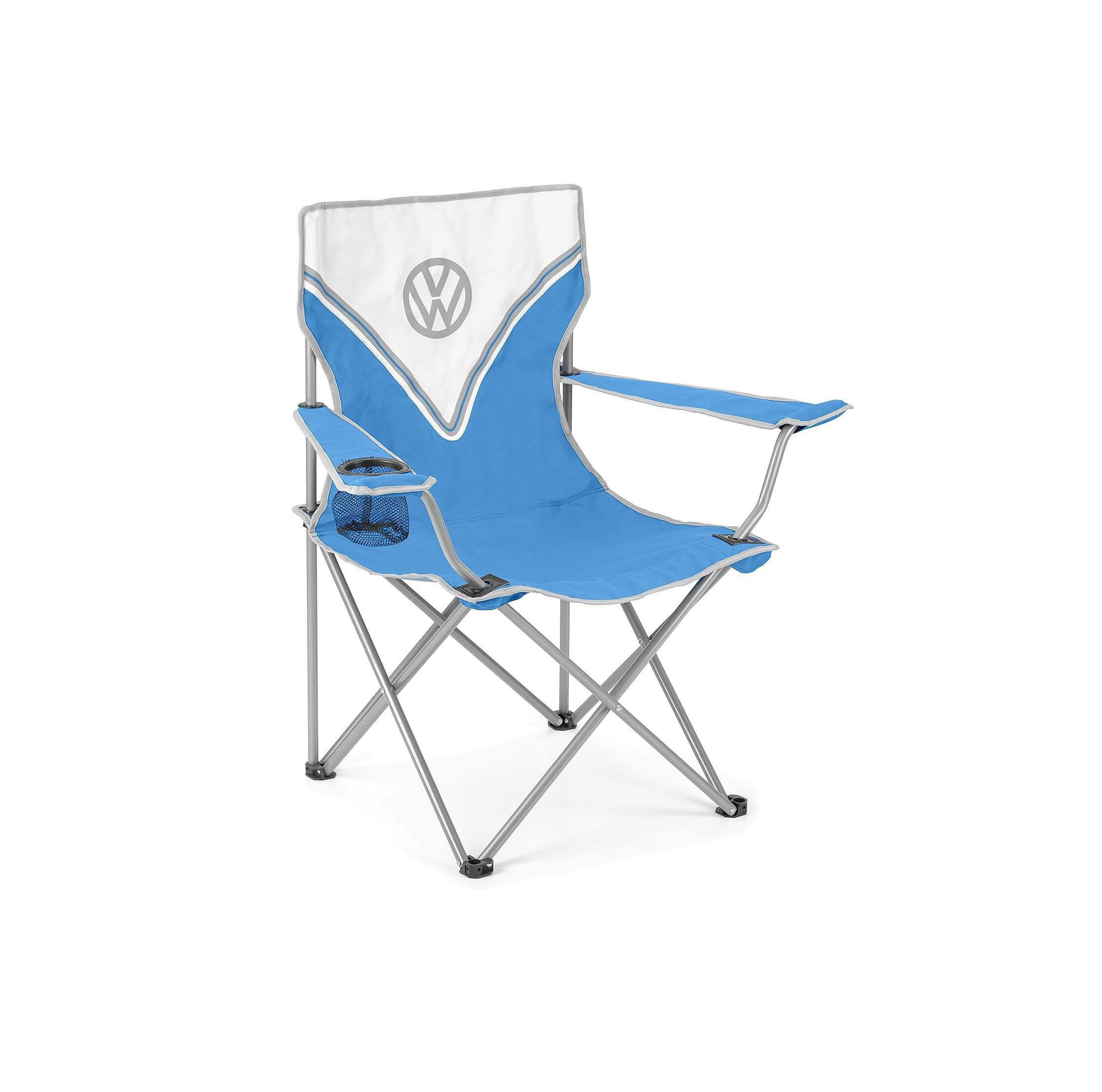 Vw Camping Chair Blue 2