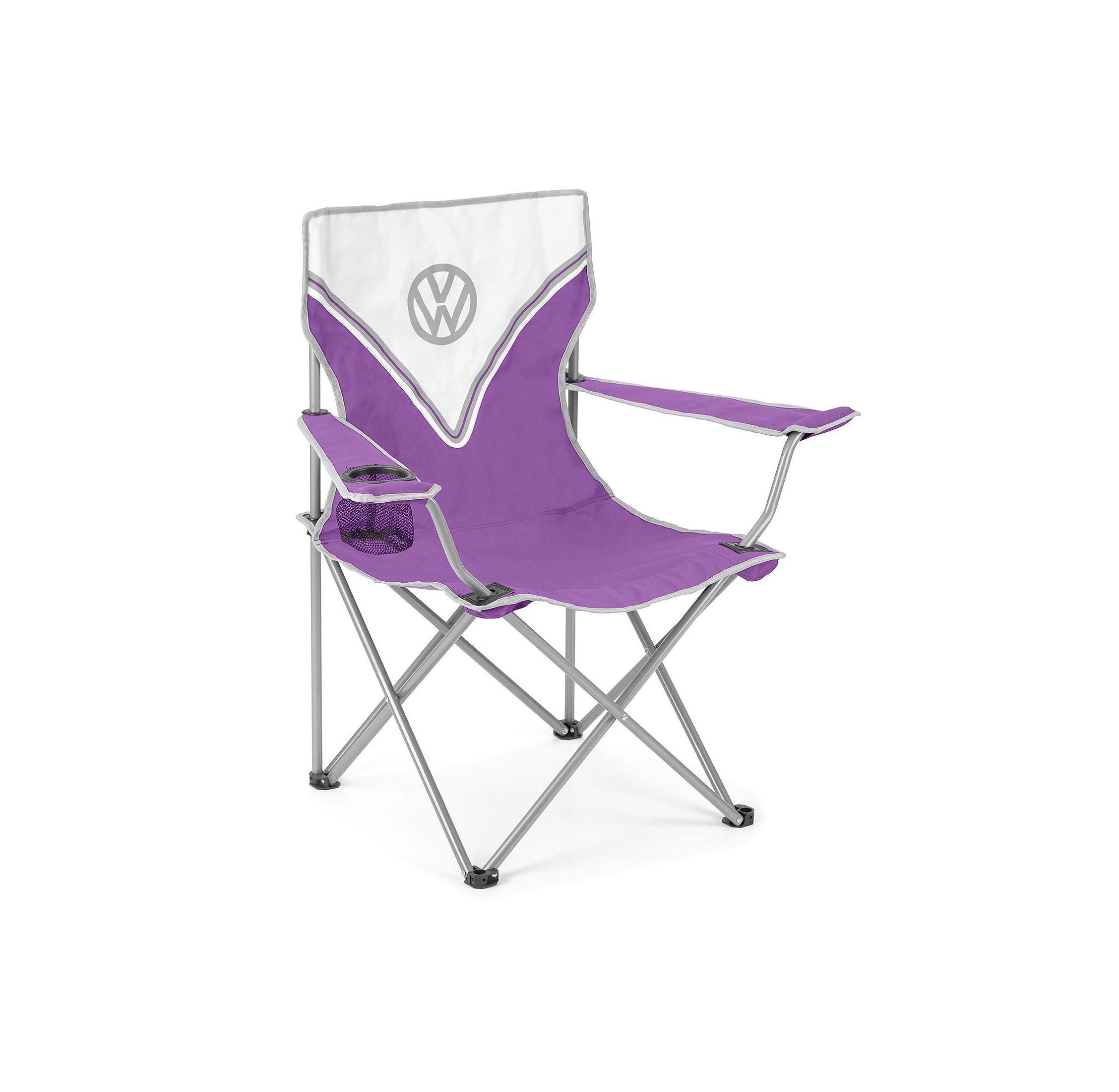 Vw Camping Chair Purple 2