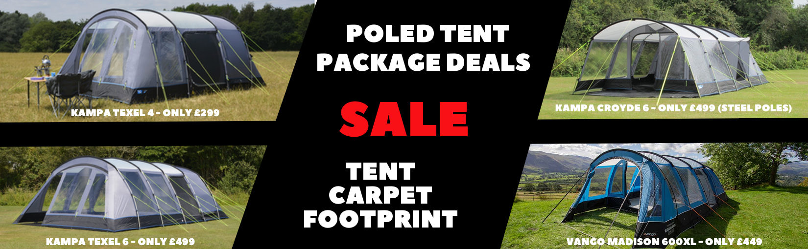 1650X510 Poled Tent Package Deals