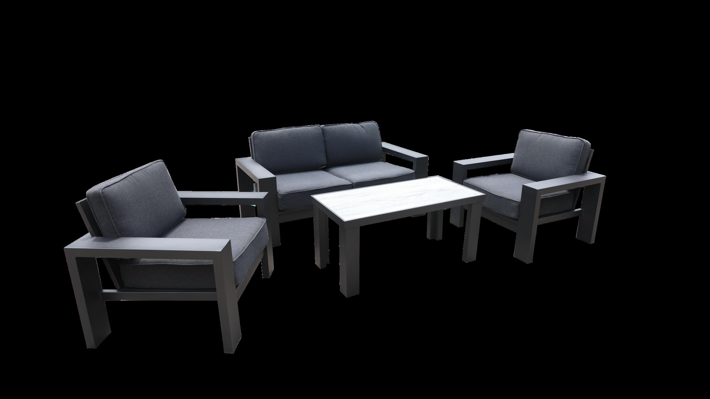 Titan 2 Seat Lounge Set 01