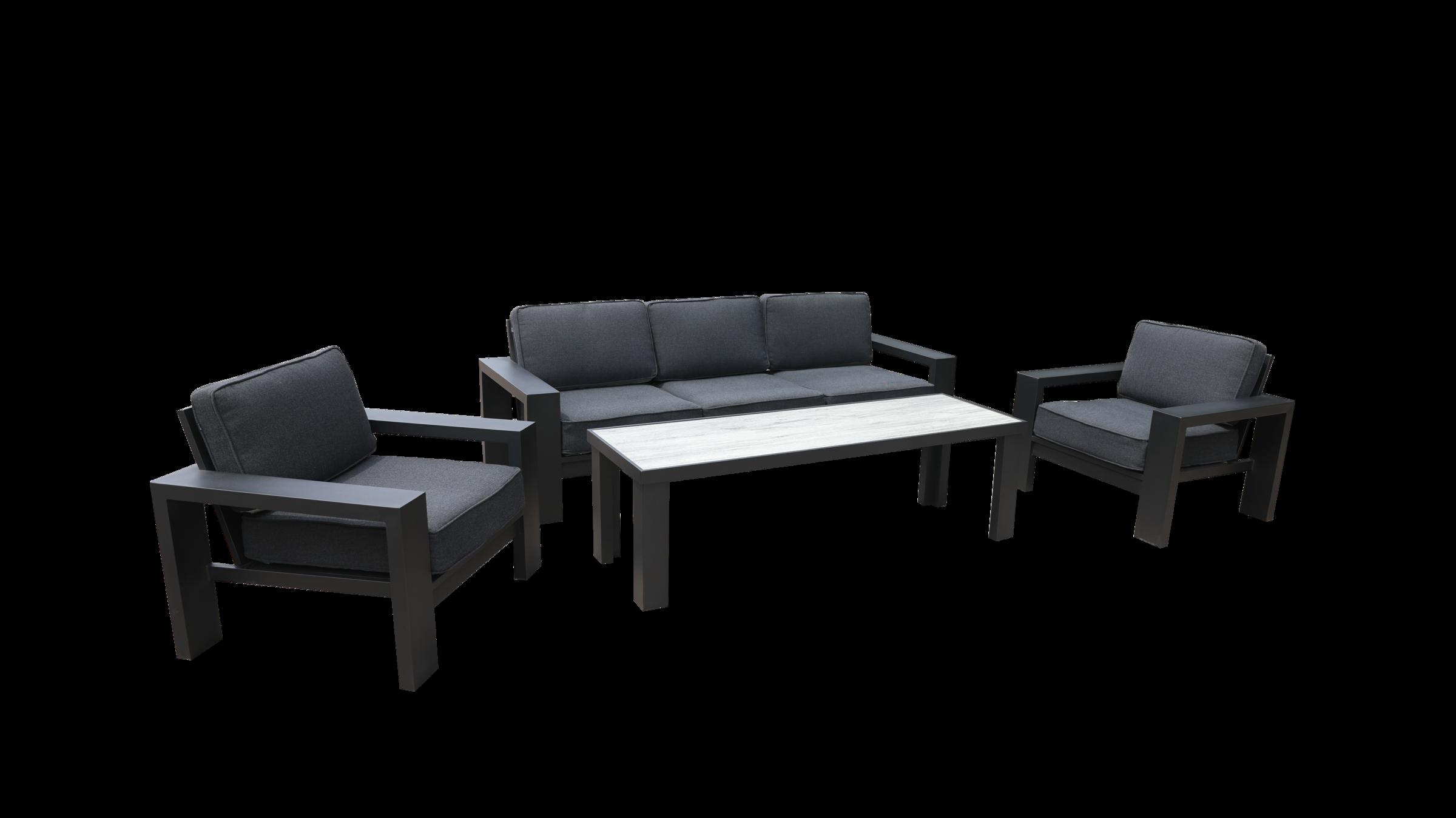 Titan 3 Seat Lounge Set 03