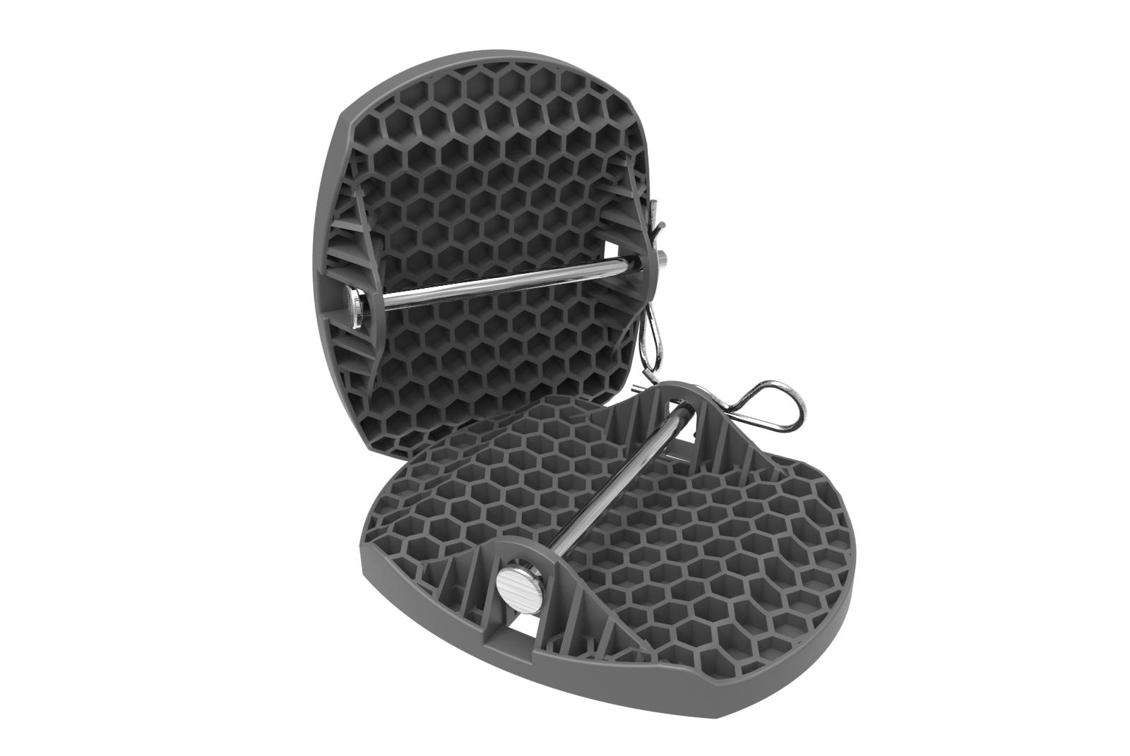 Outdoor Revolution Premium Caravan Jack Pad Feet