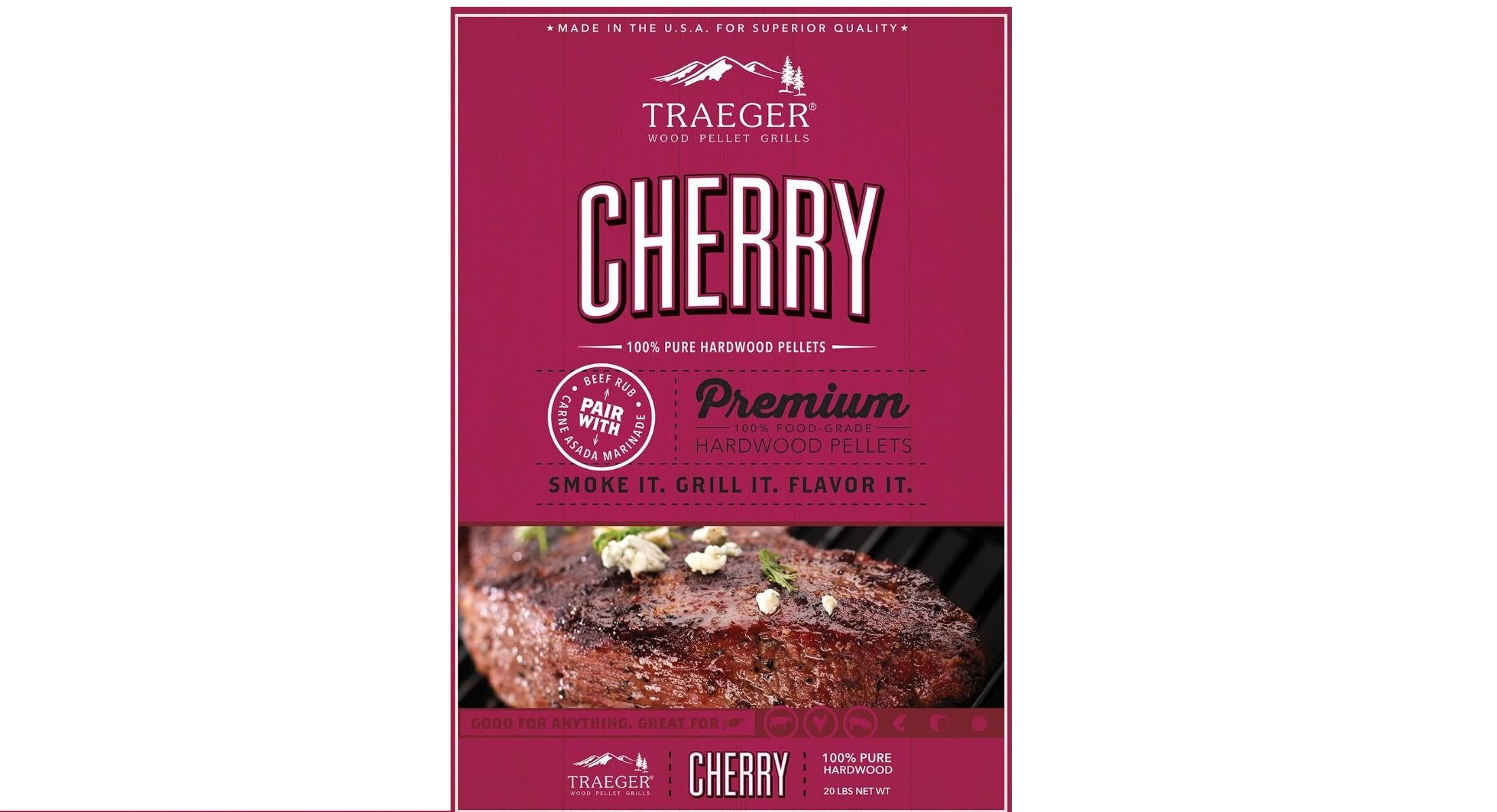 Traeger Cherry Pellets 20Lb