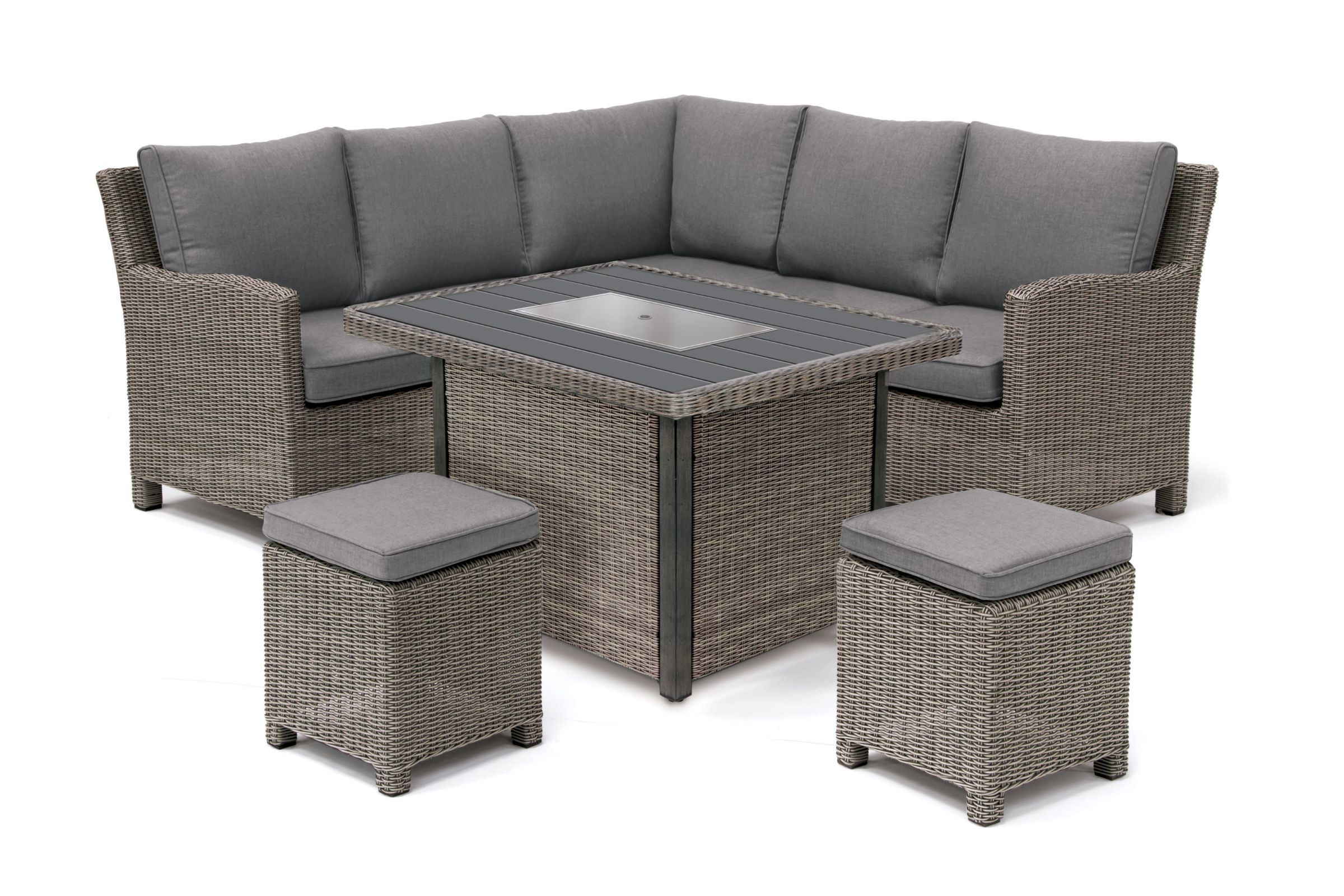 Kettler Palma Mini Set with Firepit Table
