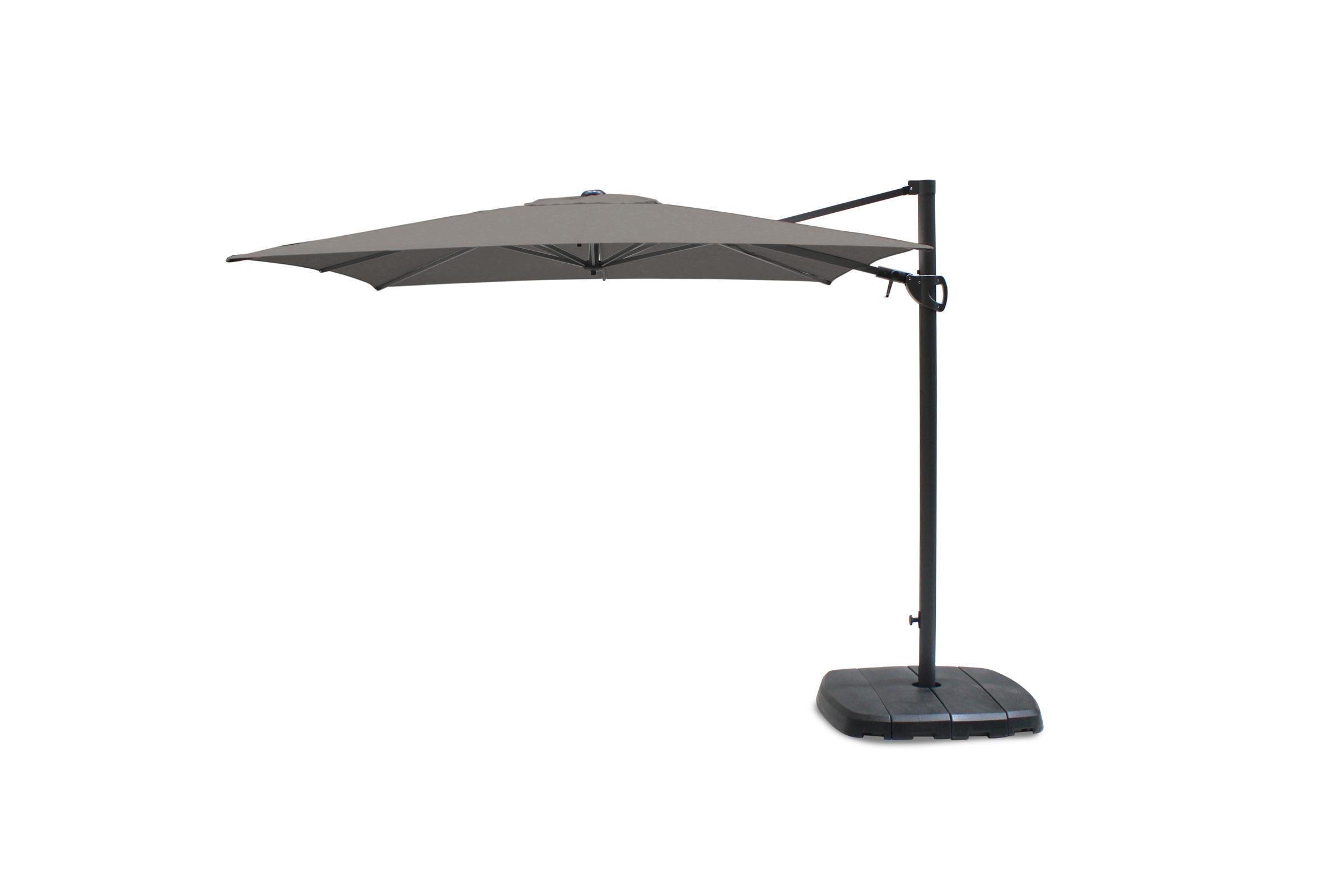 Kettler 2.5m Square Free Arm Parasol