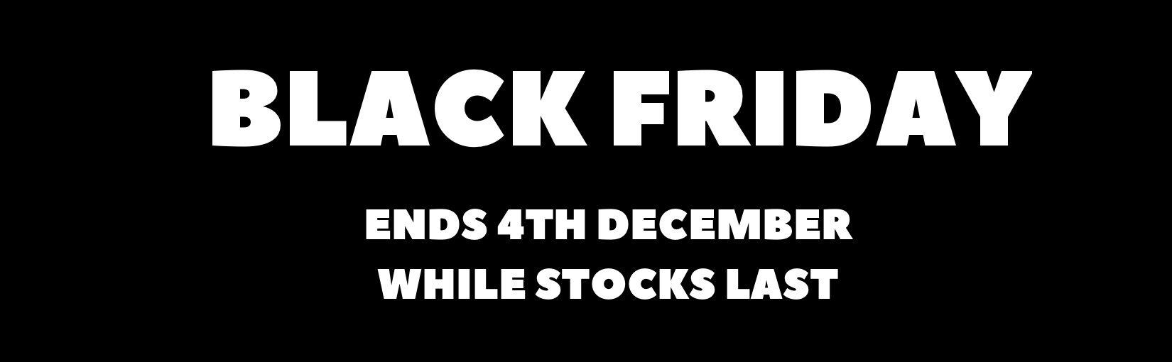 1650X510 Black Friday End 4Th