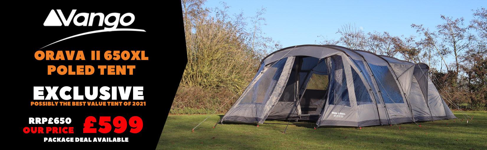 Vango Orava ll 650XL Poled Tent