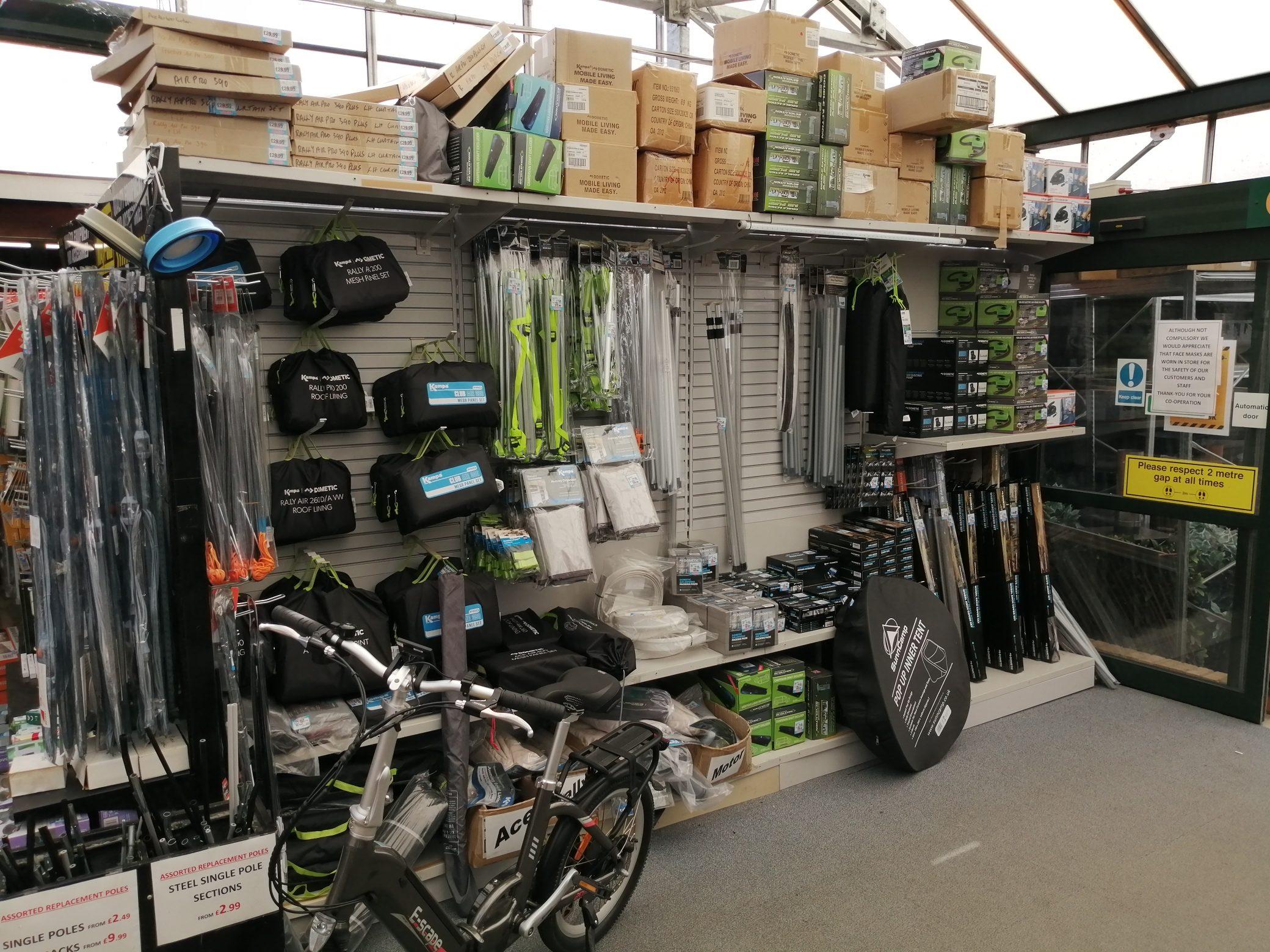 Caravan & Camping Equipment