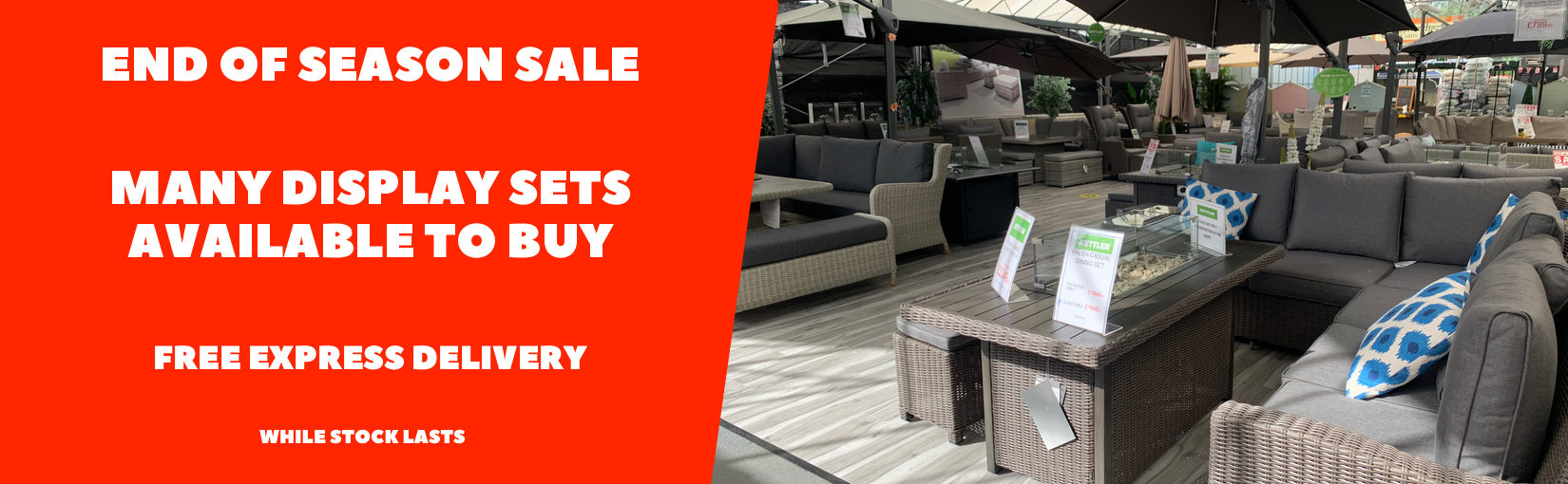 1650X510 End Of Season Sale Furniture