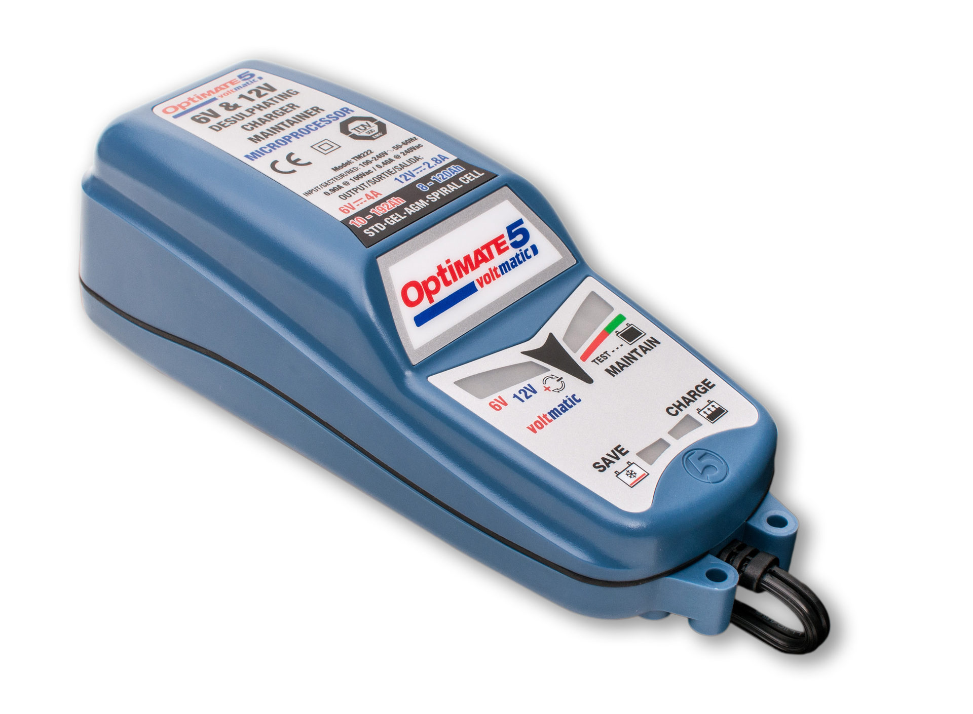 Optimate 5 Voltmatic Battery Charger and Conditioner