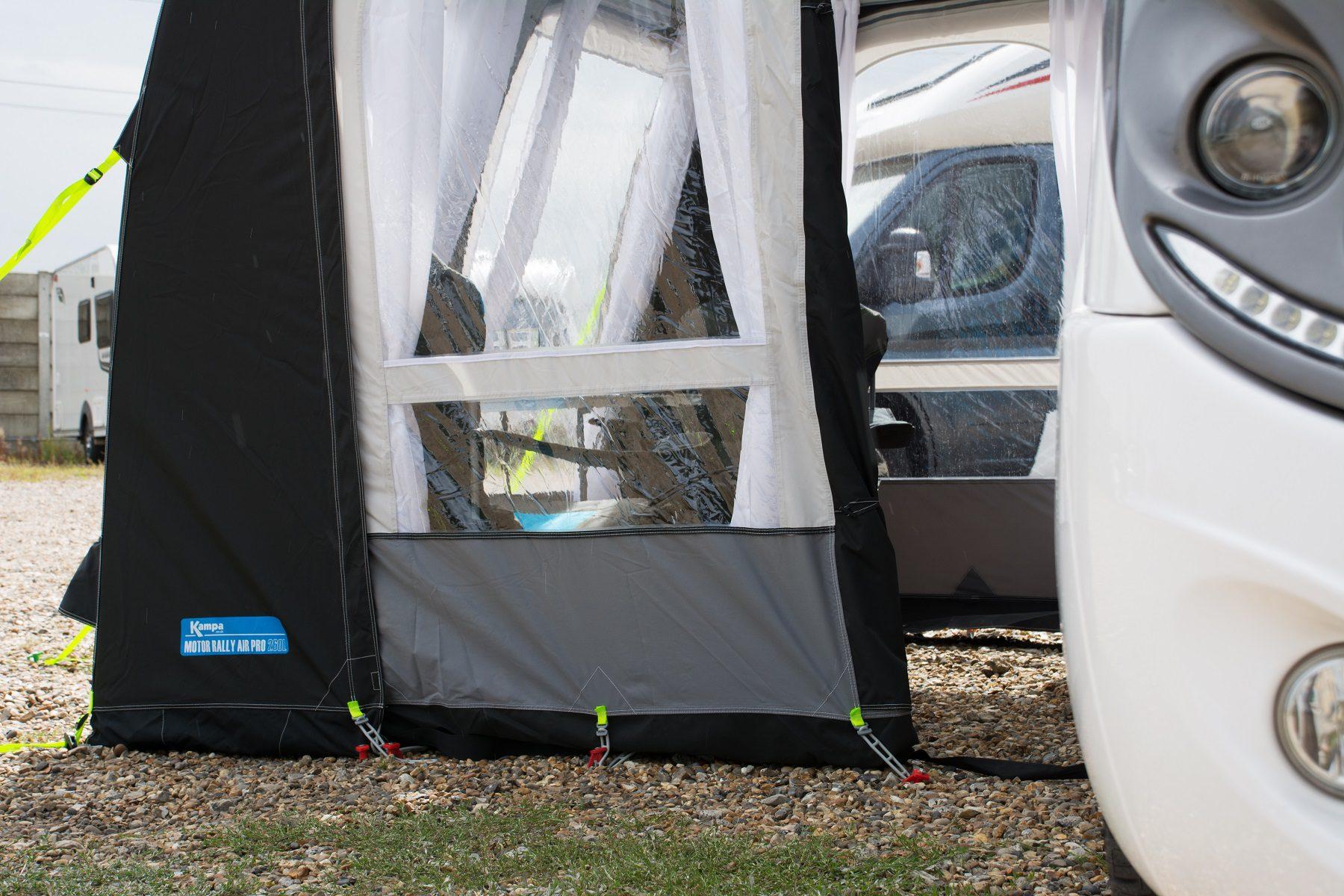 Kampa Motor Rally Air Pro 260 Xl Motor Home Awning 2018