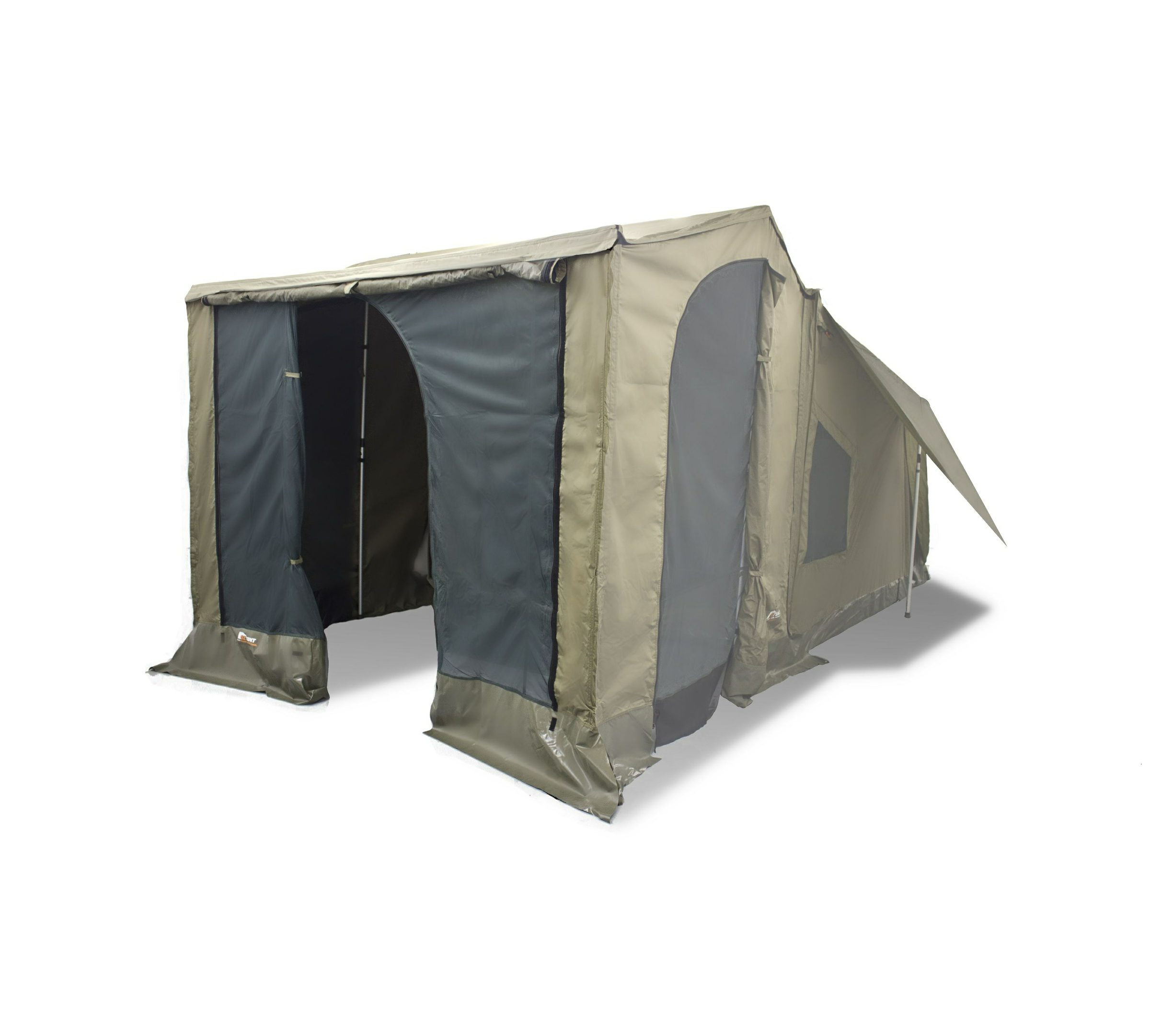 Oztent Rv Front Panel Open