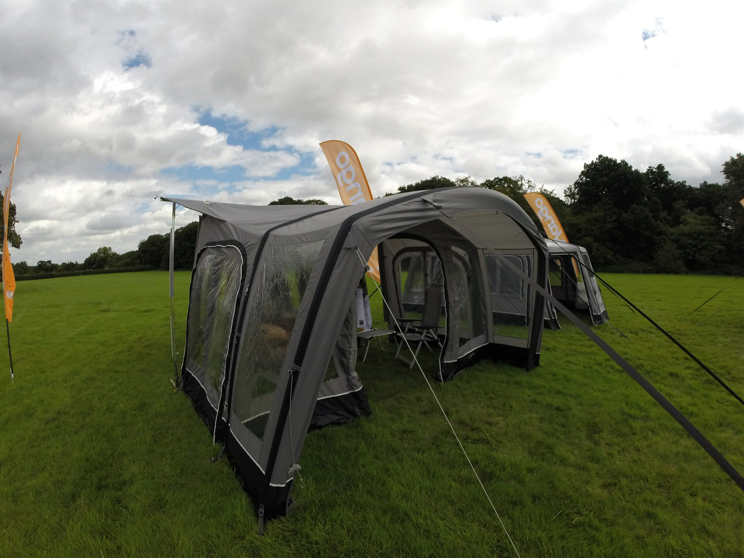 Vango Airbeam Porch Awnings Inflatable Norwich Camping