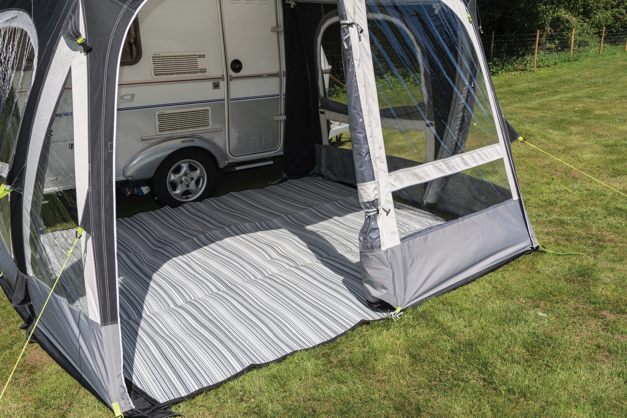 Kampa Pop Air Pro 290 Eriba Caravan Awning 2017