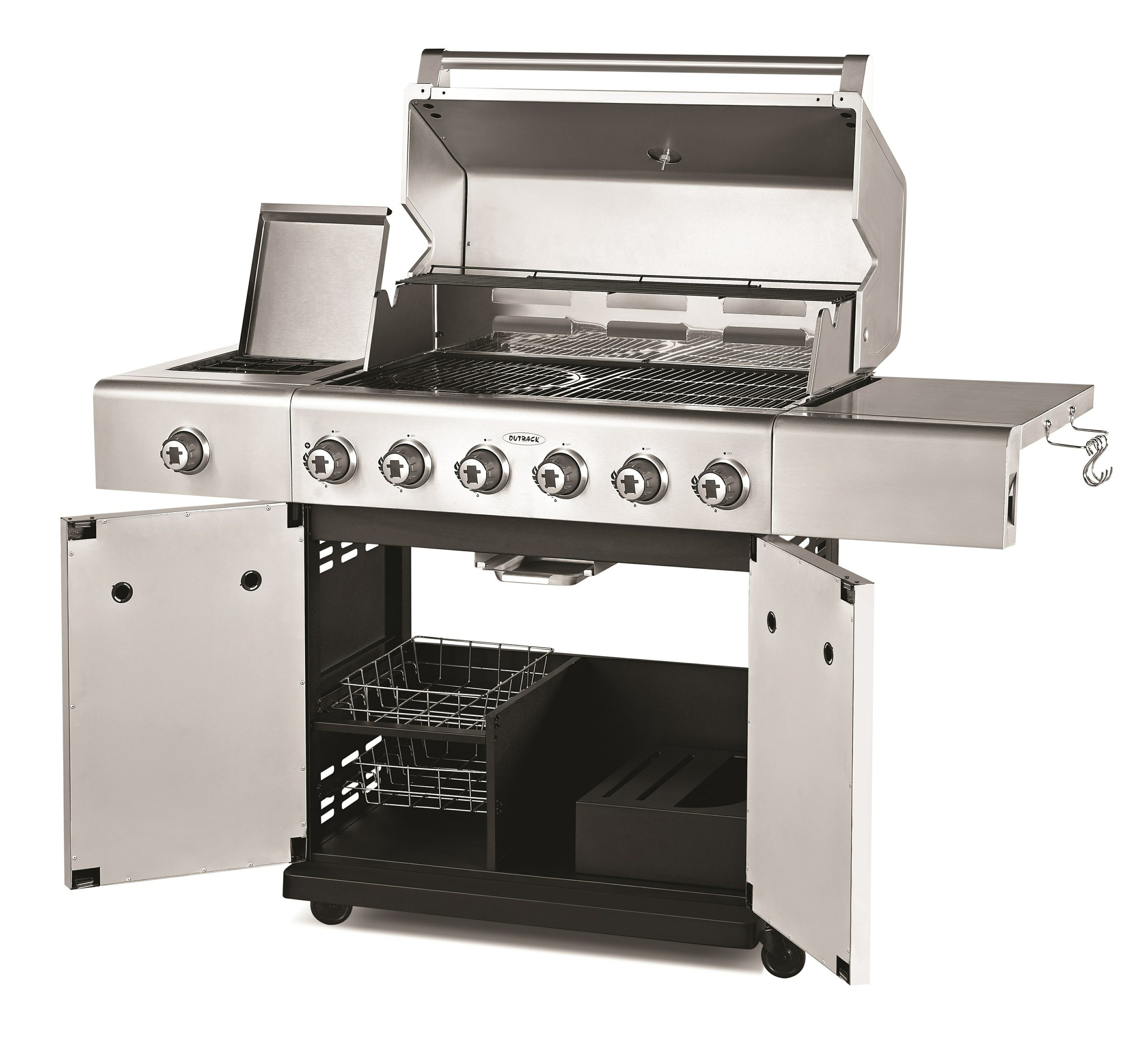Outback Jupiter 6 Burner Stainless Steel