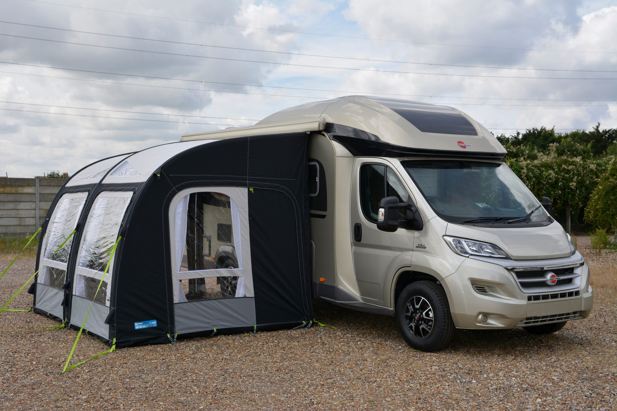 Kampa Motor Rally Air Pro 330 L Motor Home Awning 2018
