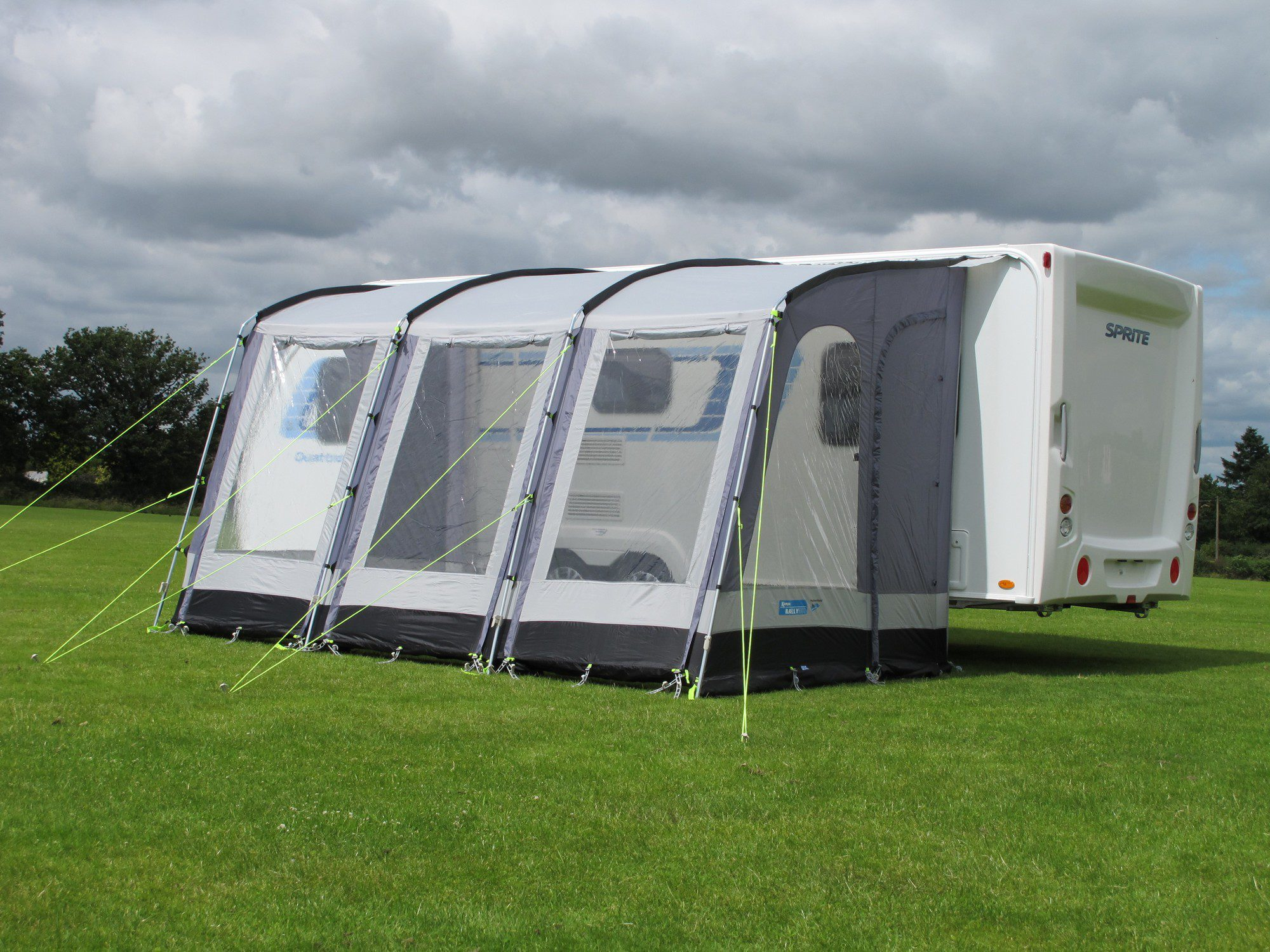 Kampa Rally 390 Grey Caravan Awning 2018 Caravan Awnings