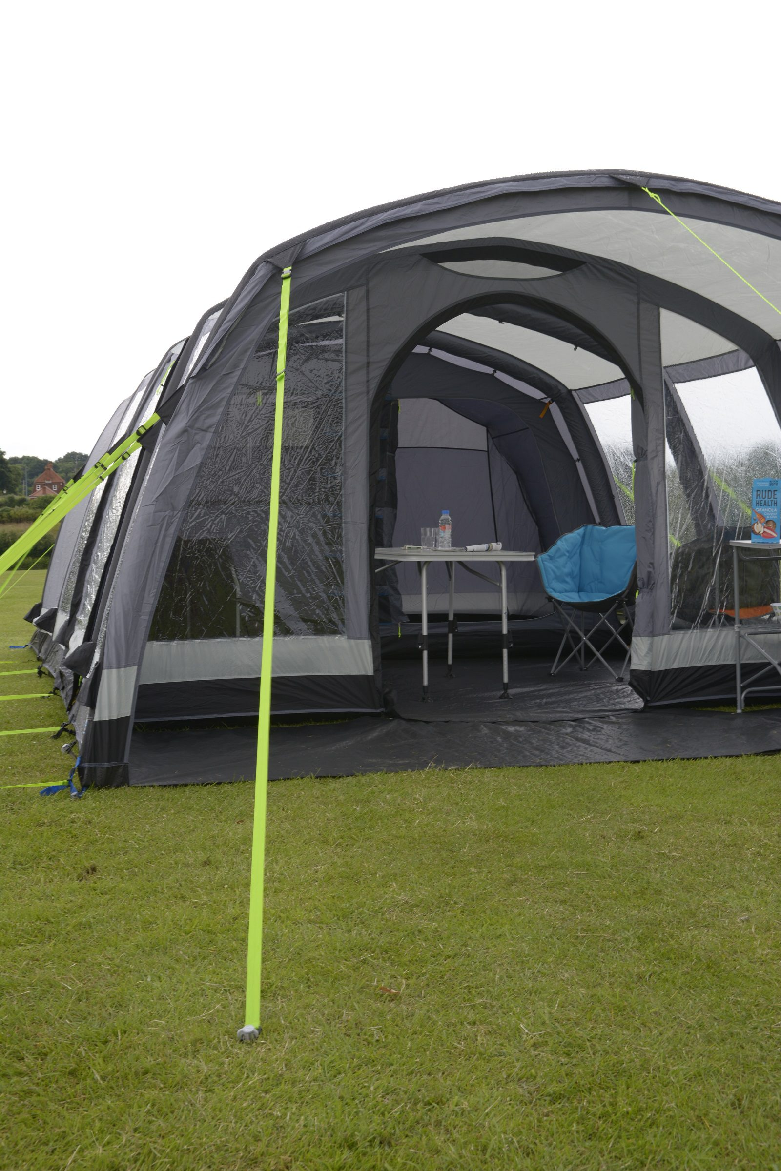 Hayling 6 air pro side of tent