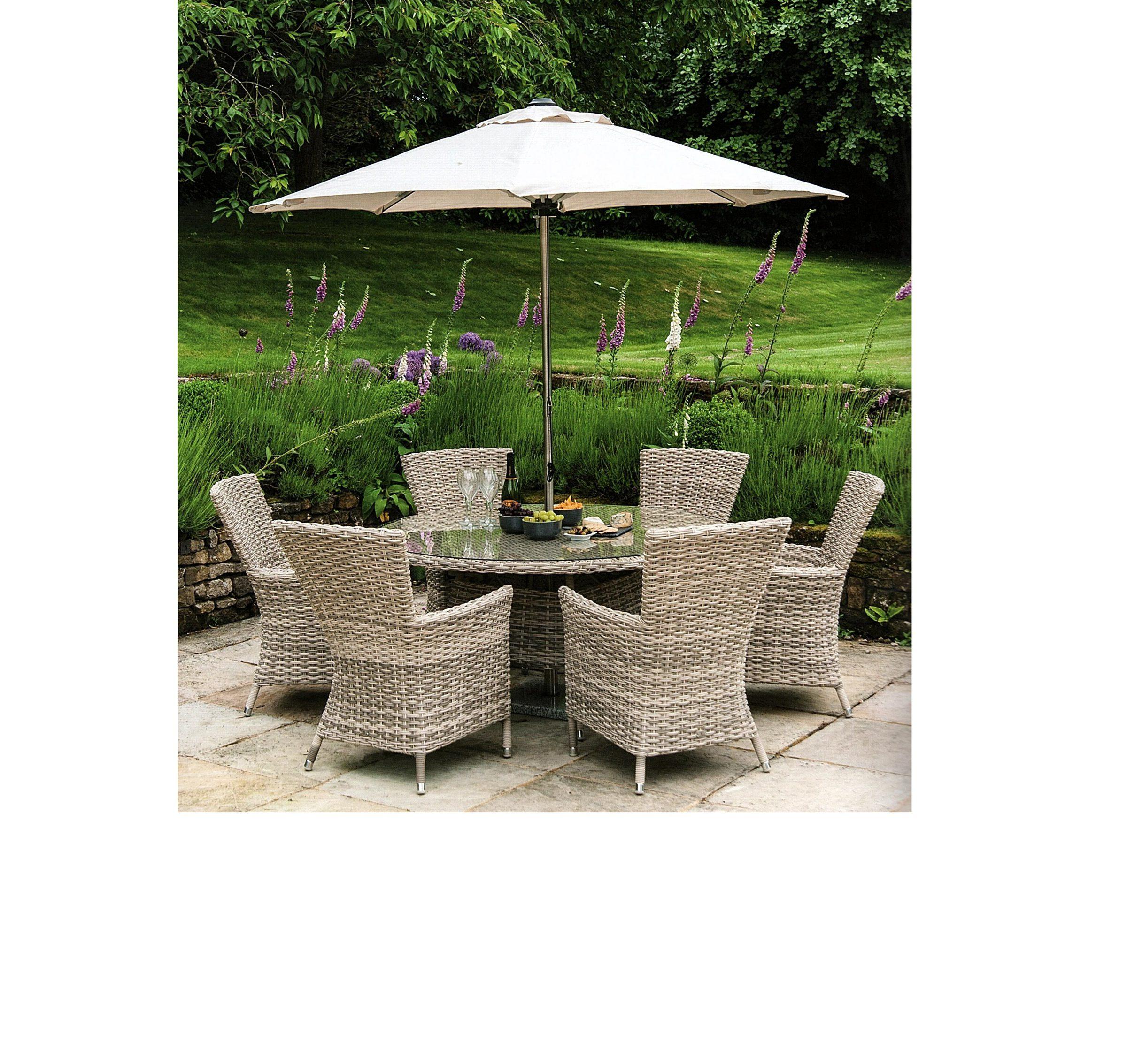 Kool Pearl 1.5m round furniture set