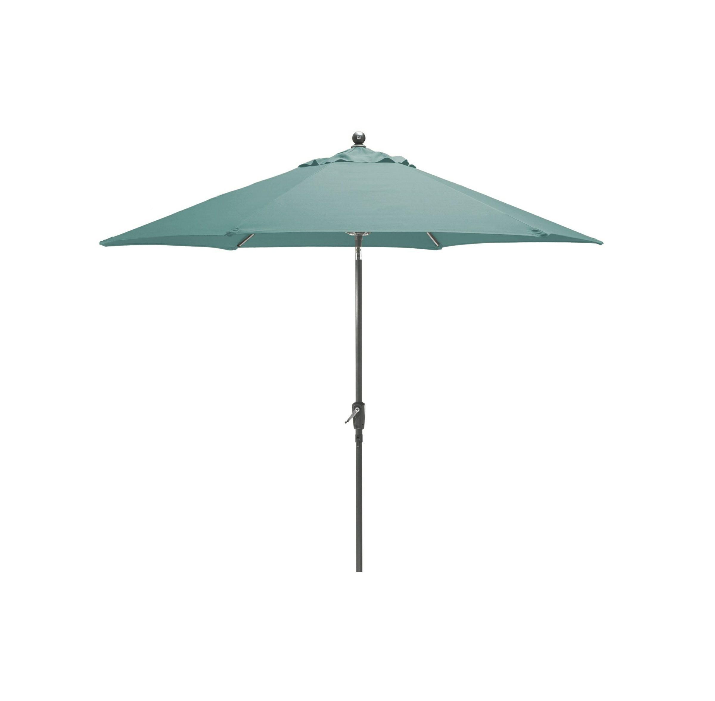 Kettler 2.9 tilt parasol slate/aqua